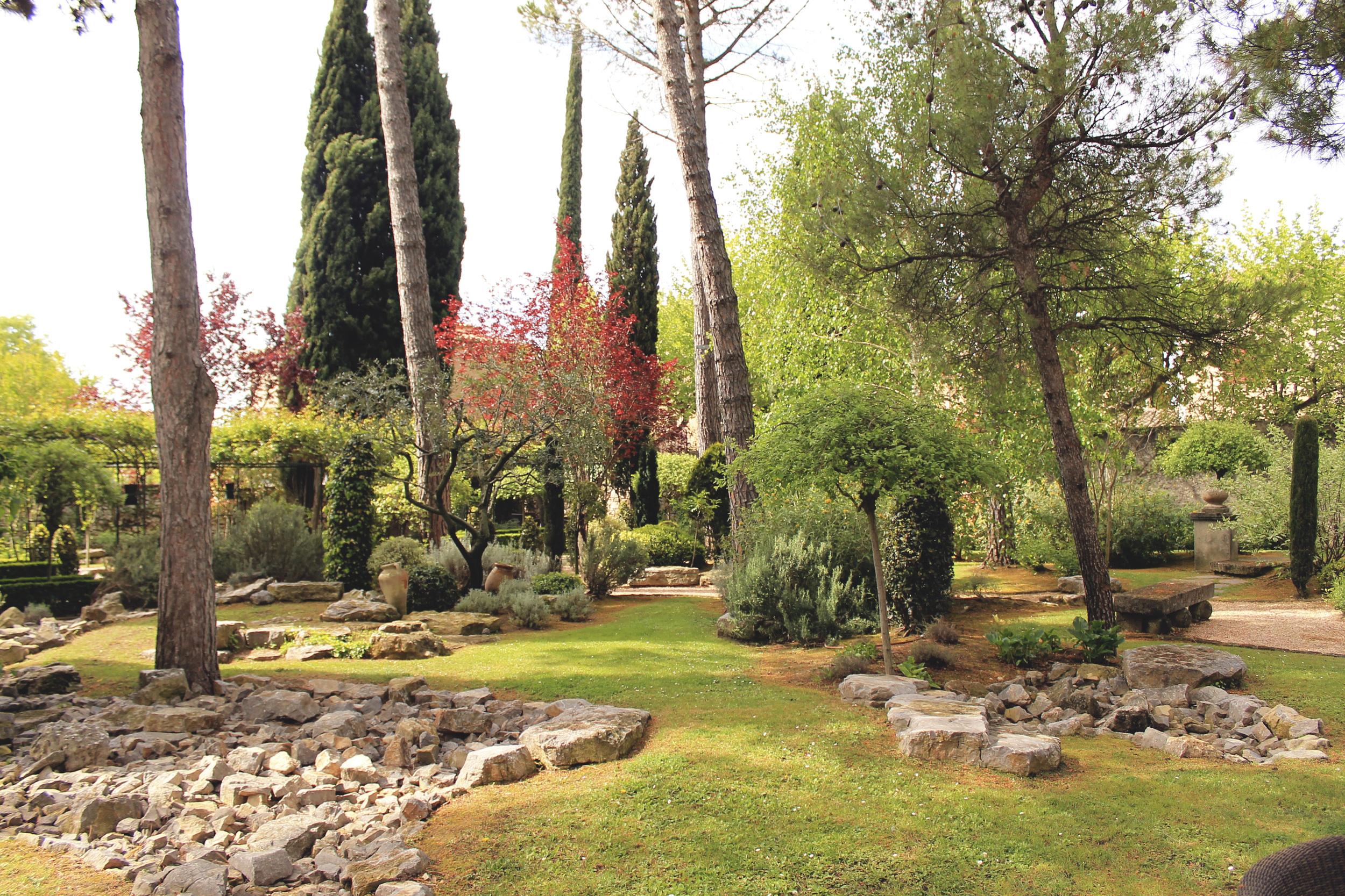 hotel pigonnet grounds gardens aix en provence