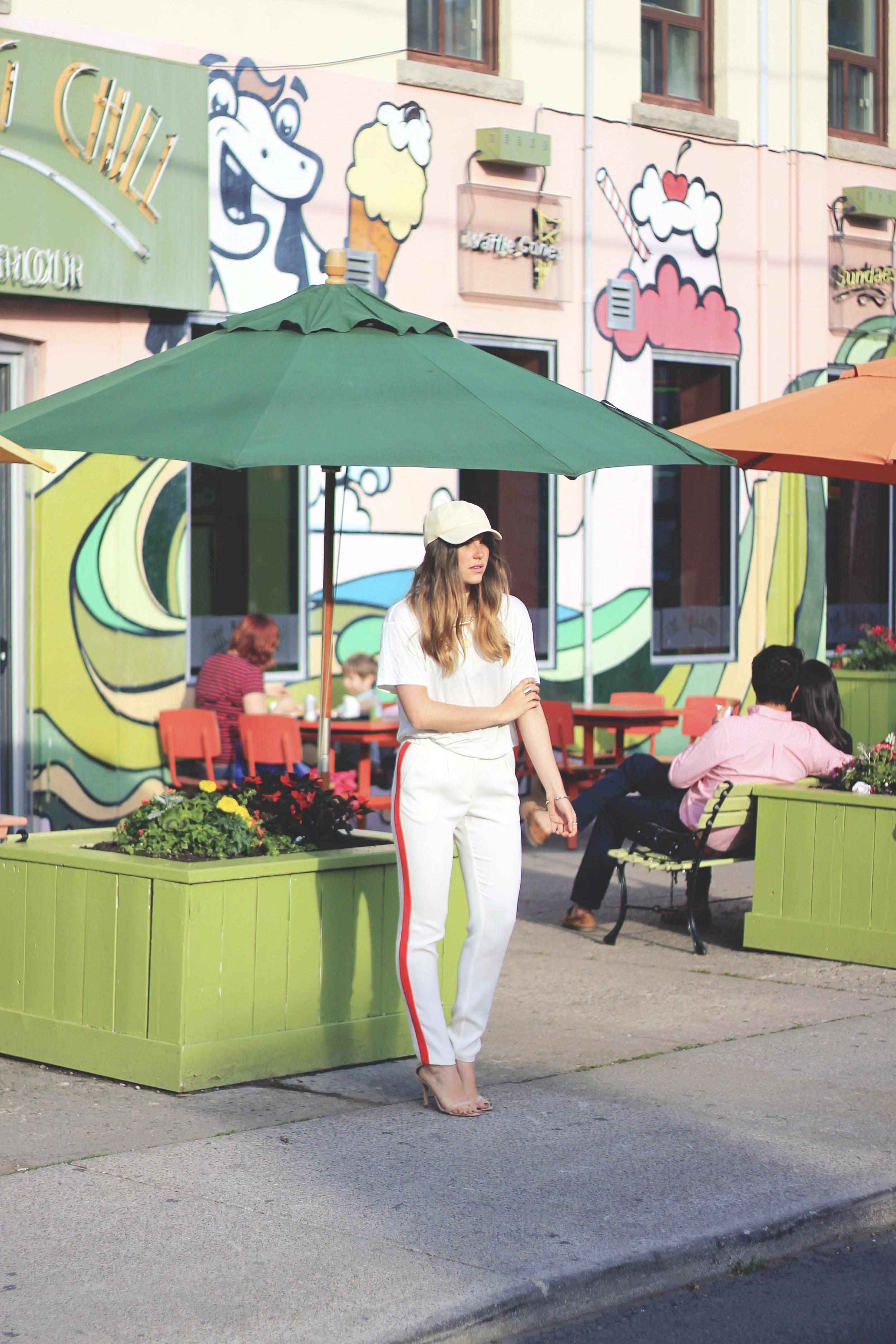 toronto street style fashion blogger big chill little italy