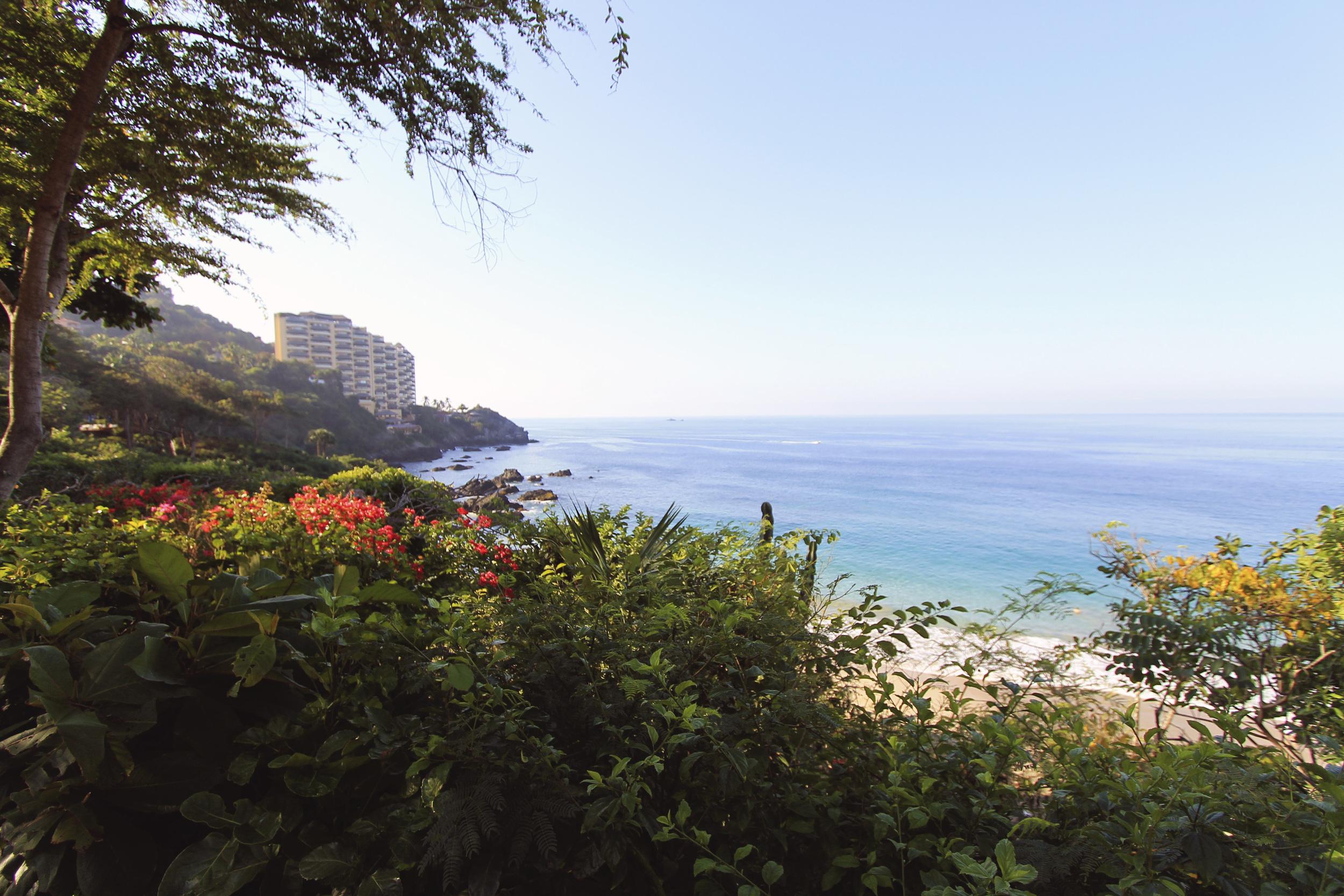 mexico beach ocean view pacific