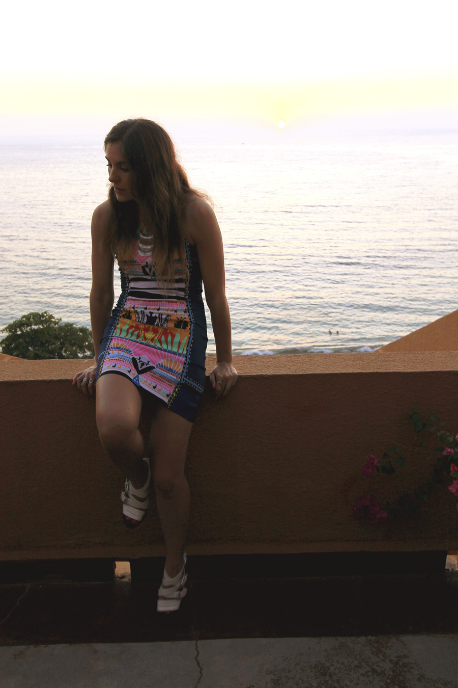 mara hoffman mini dress outfit vacation