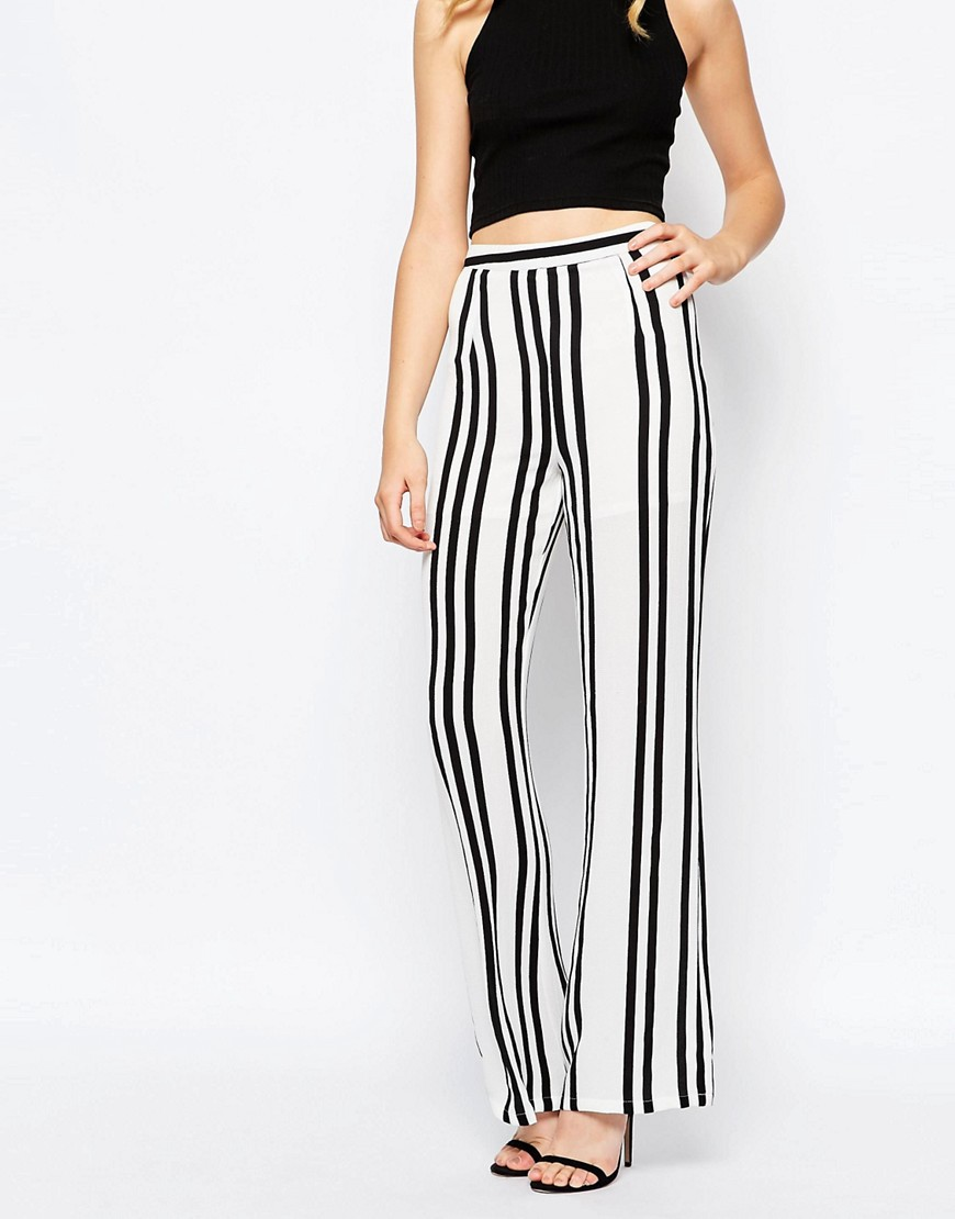 Goldie High Standards Wide Leg Palazzo Pant In Stripe.jpg