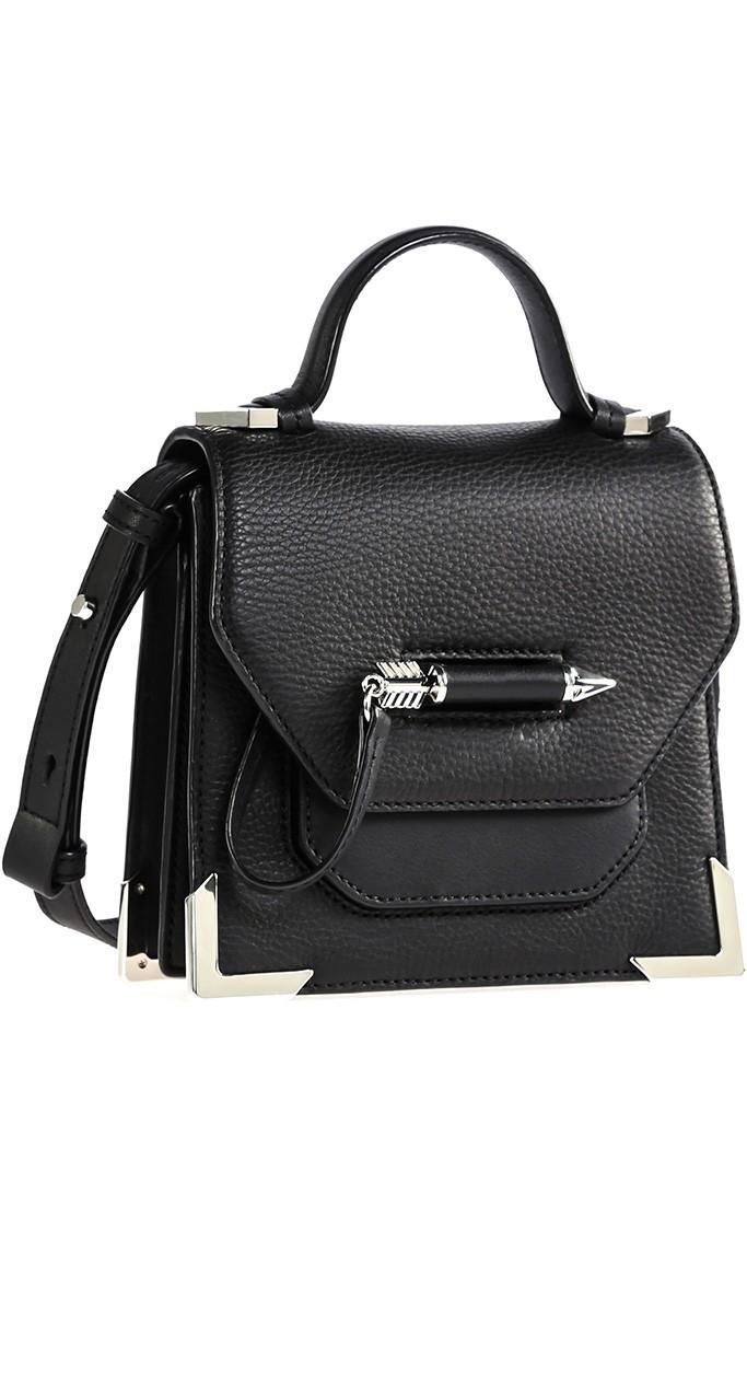 mackage rubie black mini crossbody bag arrow silver.jpg