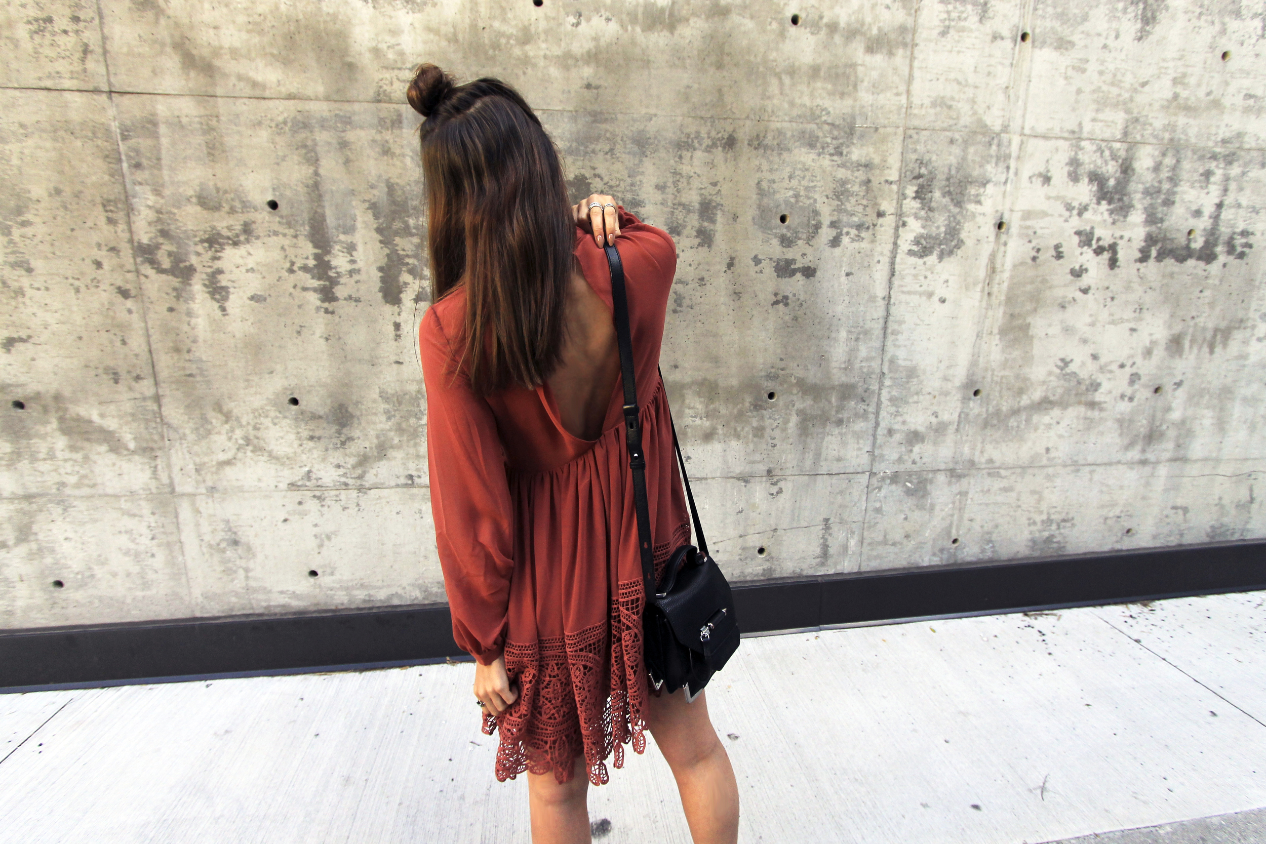 back view asos rust lace trim dress sleeves style.jpg