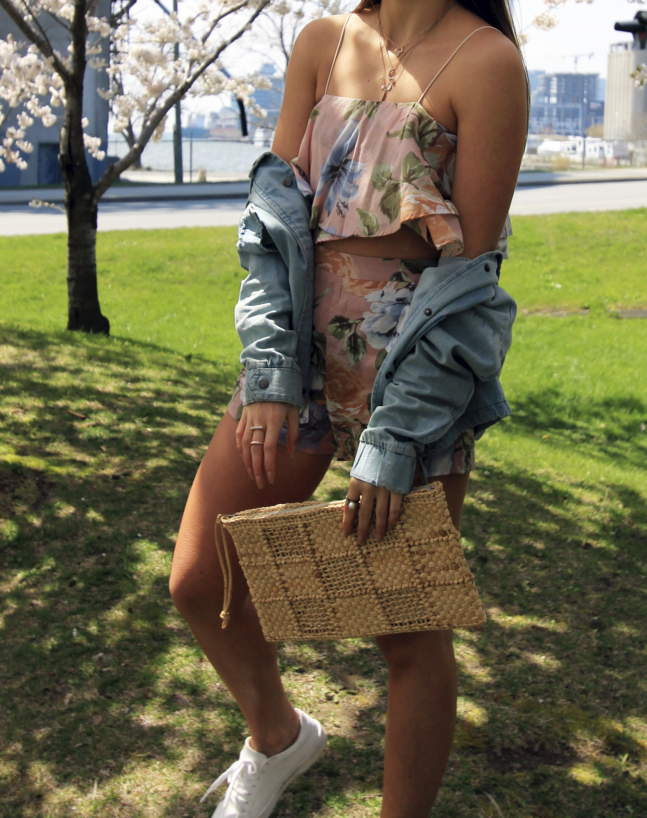 paradise lost set floral thg denim jacket cherry blossoms.jpg