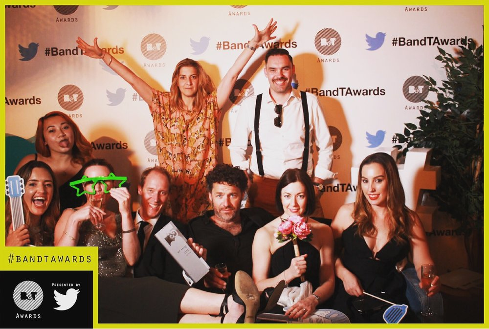 Winners of B&T NSW Agency of the Year 2016