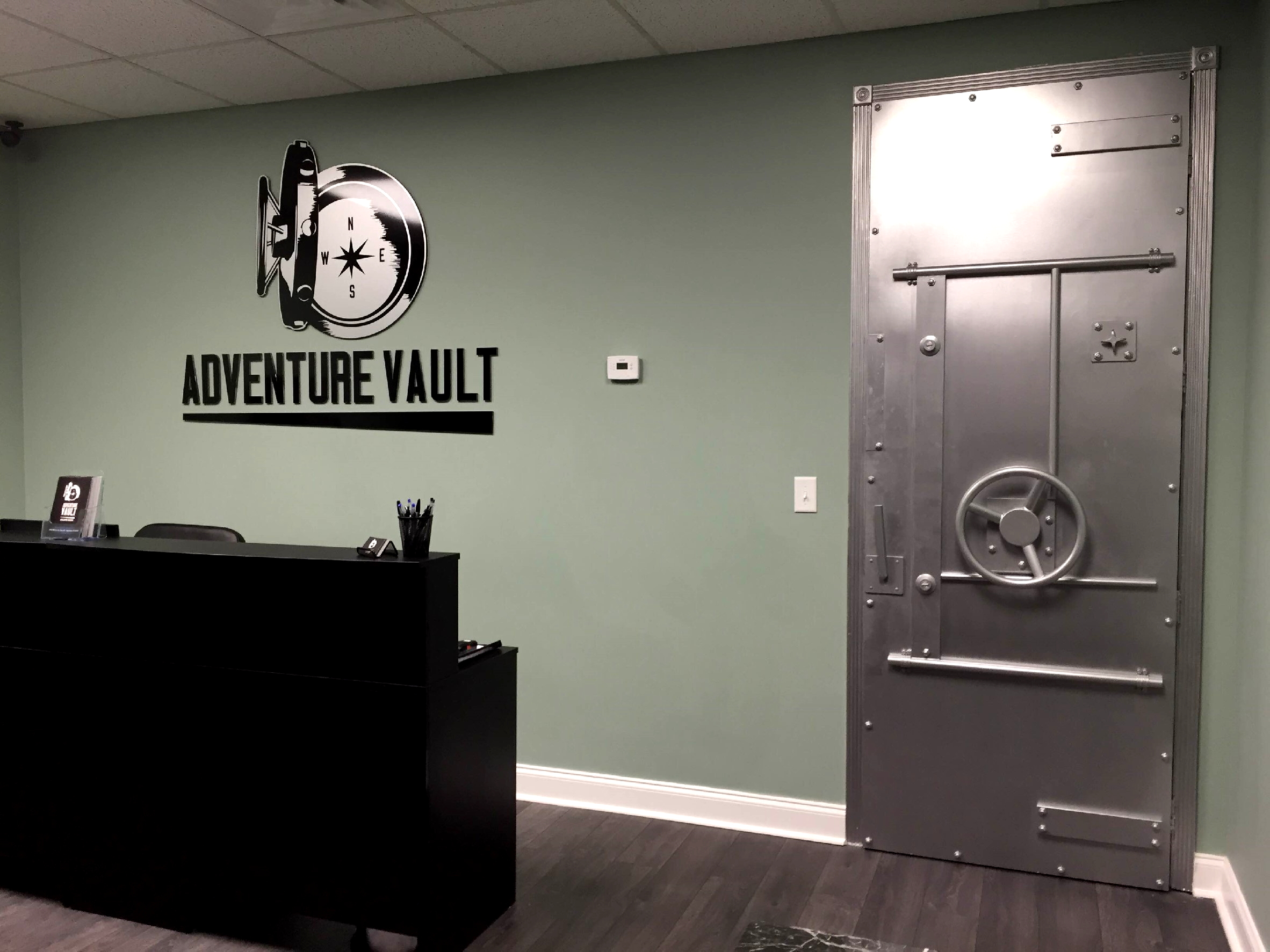 Adventure Vault Escape Room Lobby
