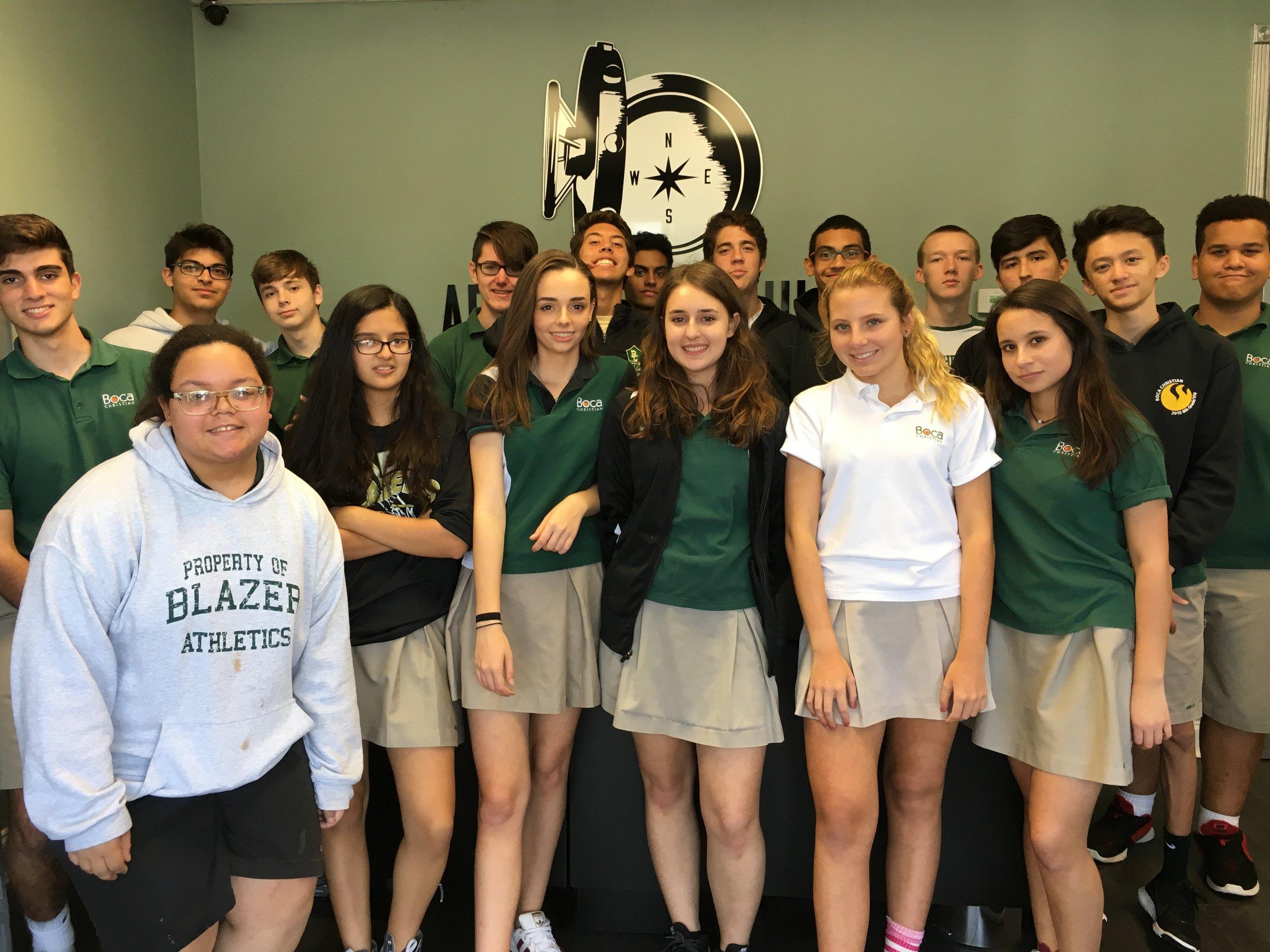Boca Raton Christian School Team Building
