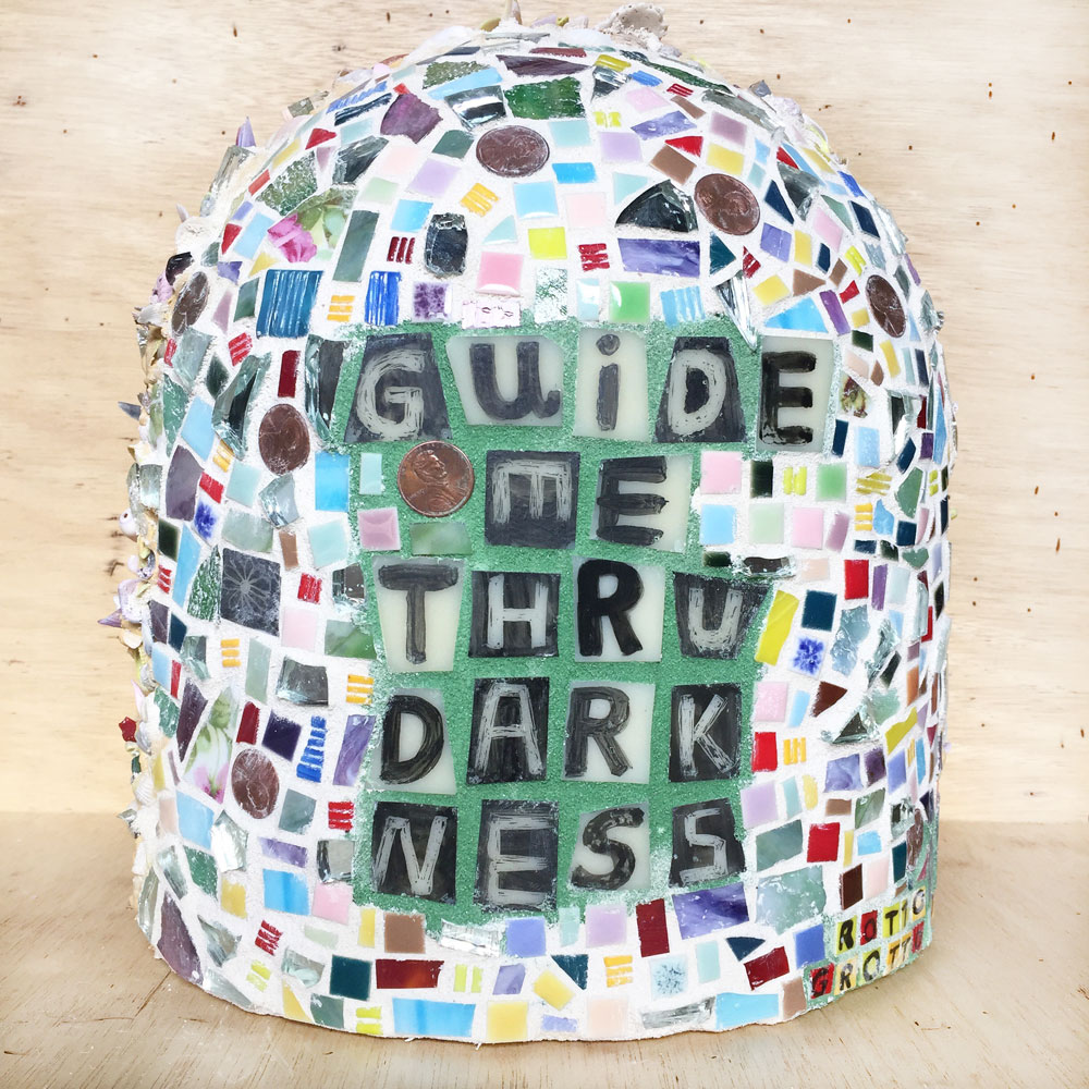 Guide Me Through Darkness Grotto (back), 2018.