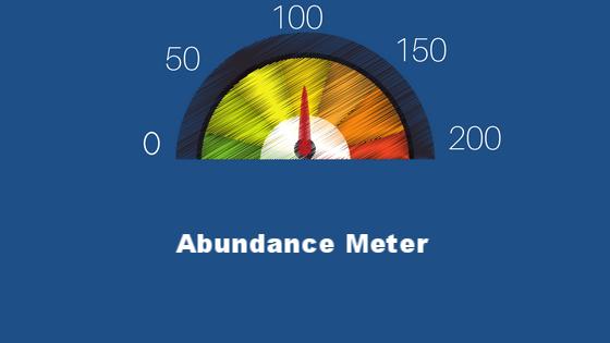 Where do you land on your Abundance Meter?