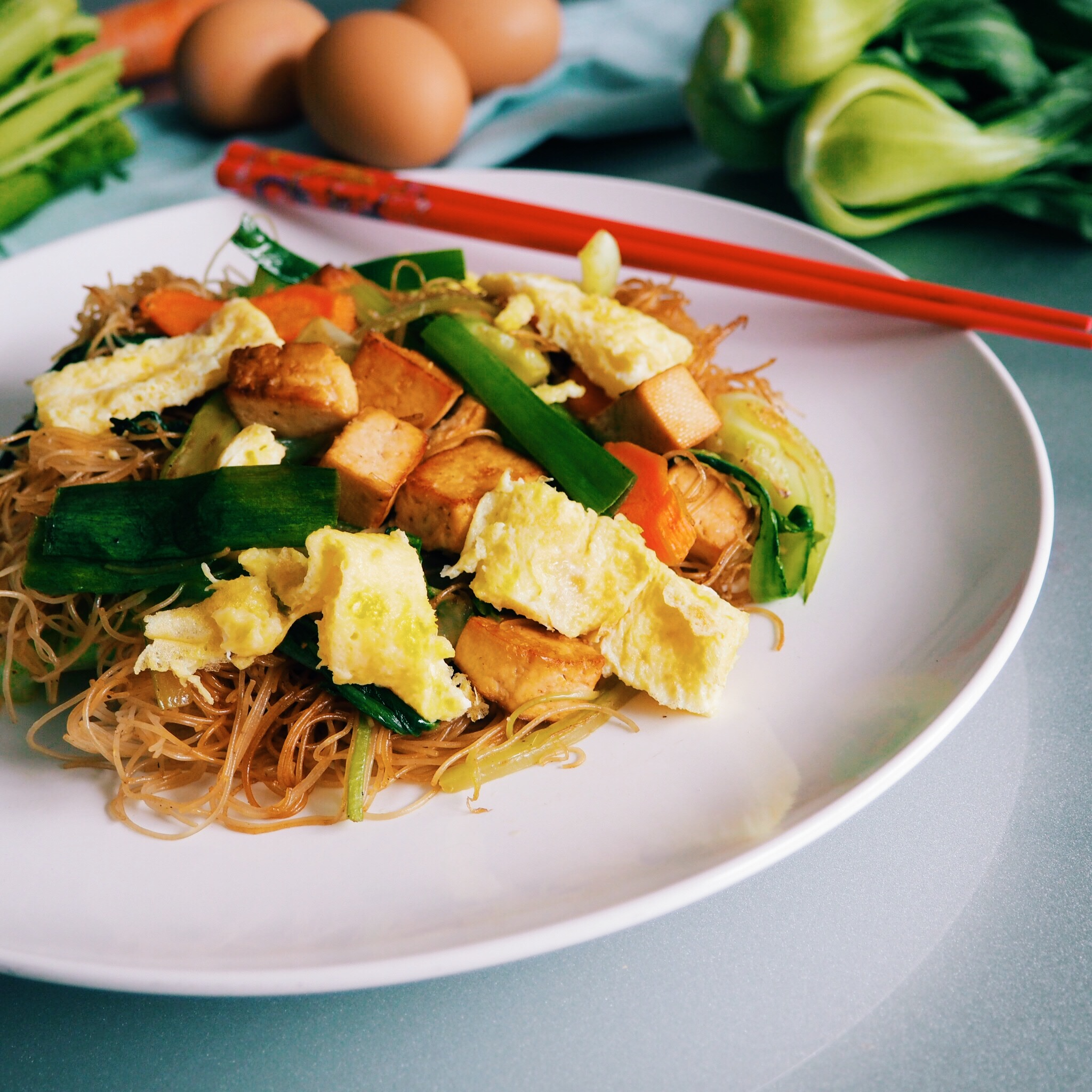 Vegetable Egg Vermicelli