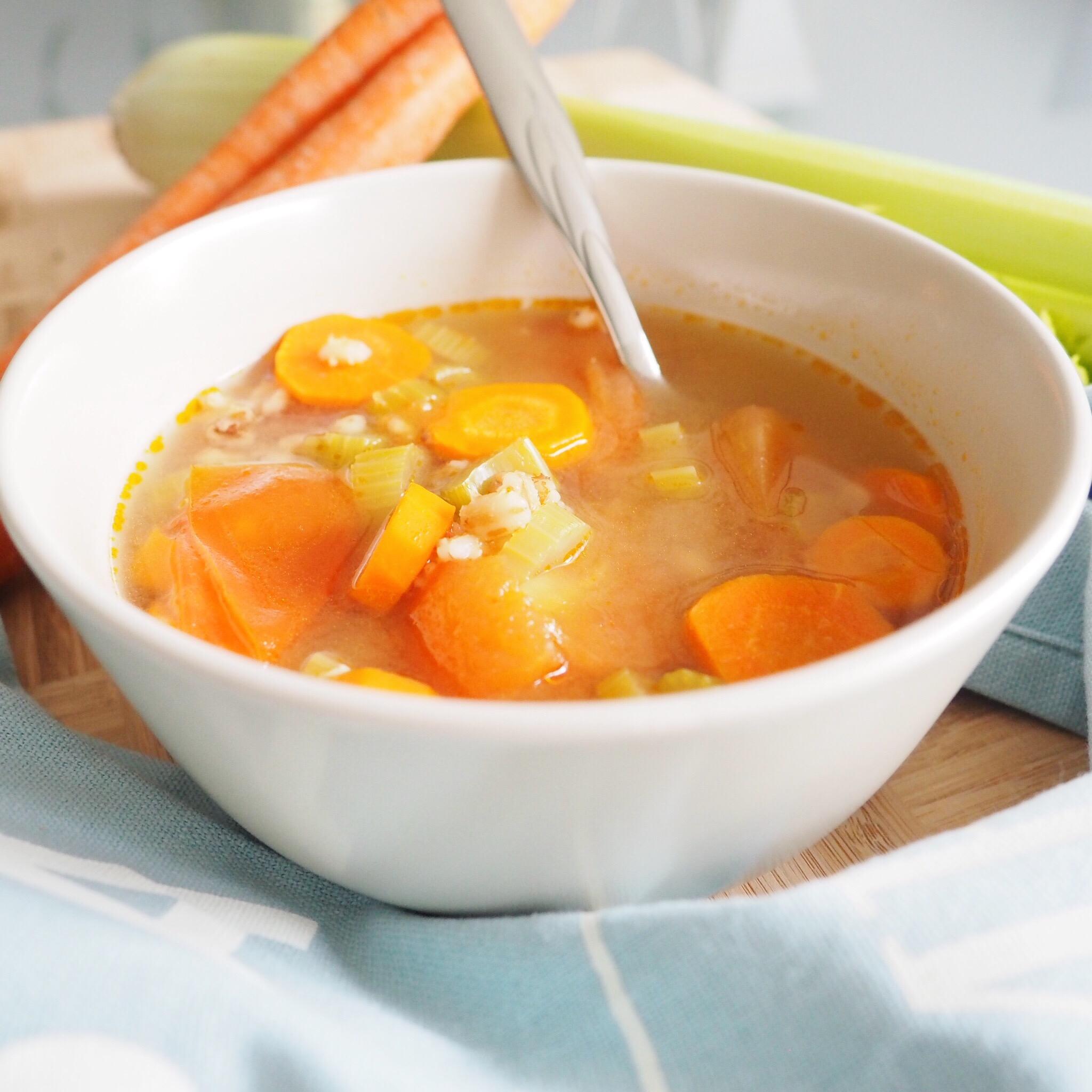 Chicken Barley Vegetable Soup