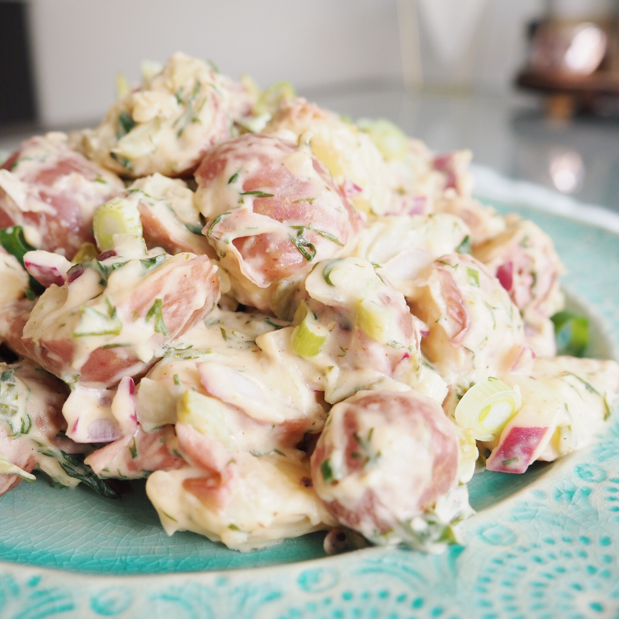 RECIPE | DILL PICKLE POTATO SALAD (VEGAN) — CHRISTIE AT HOME