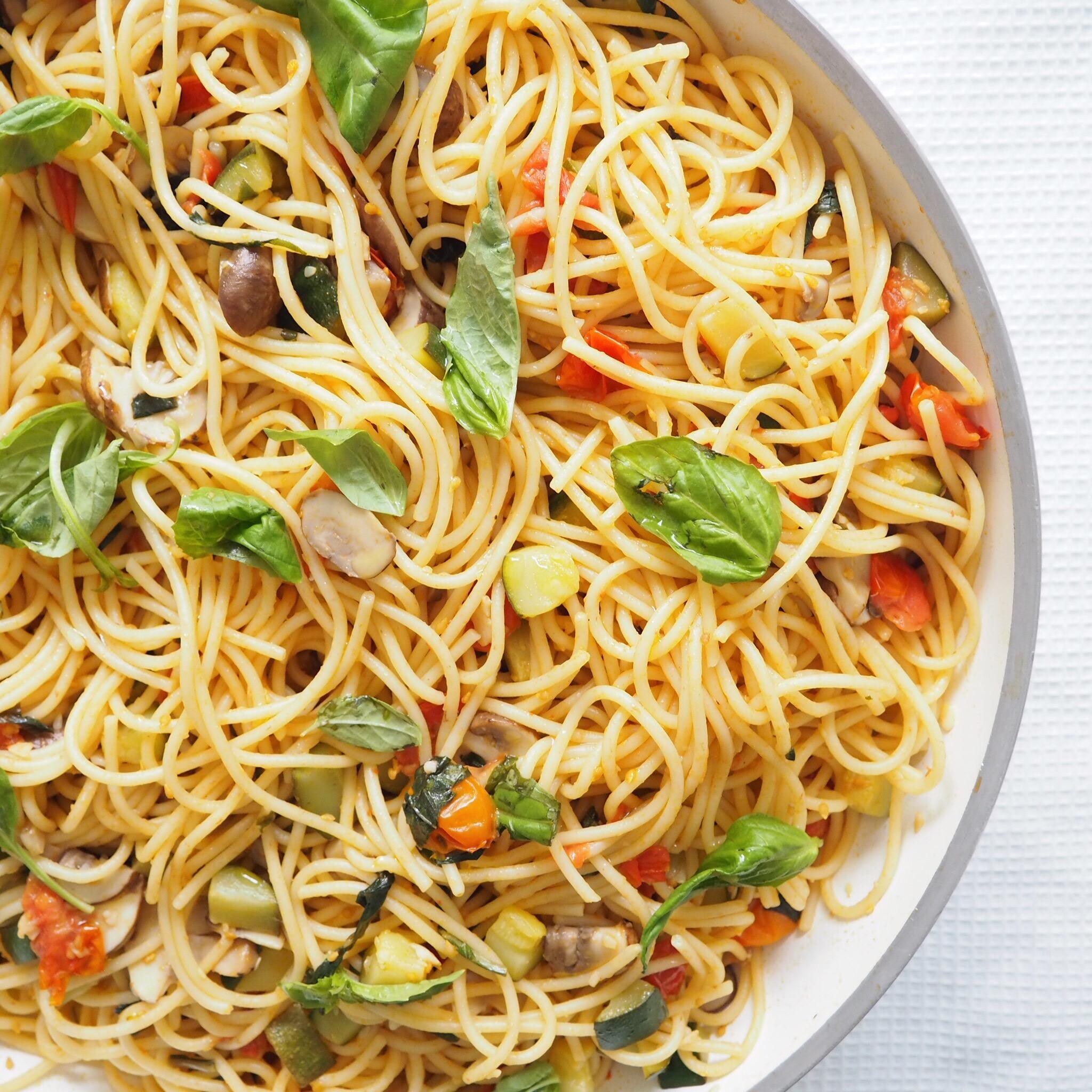 Zucchini Mushroom Tomato Pasta.JPG