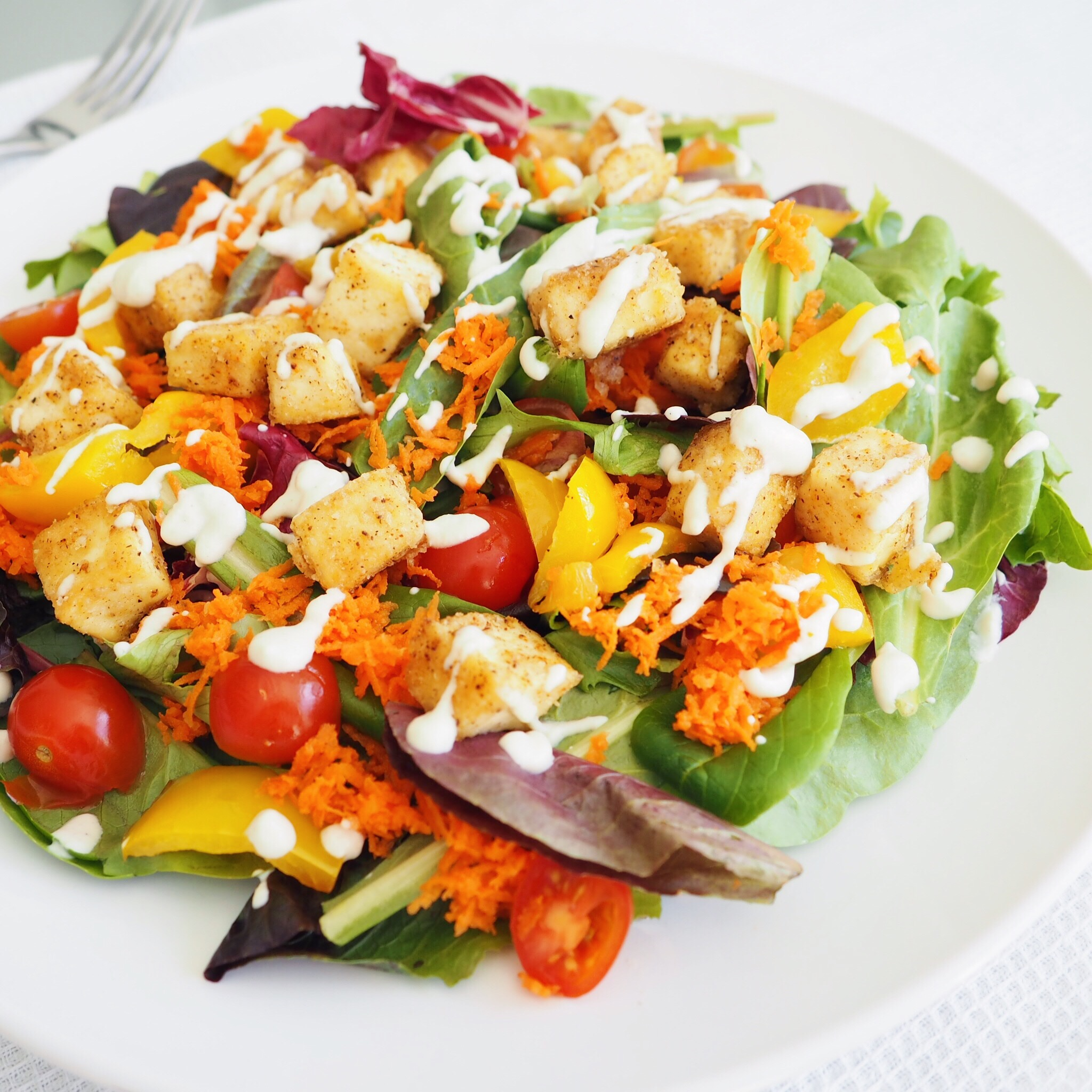 Ranch Crispy Tofu Salad Vegan(2).jpg