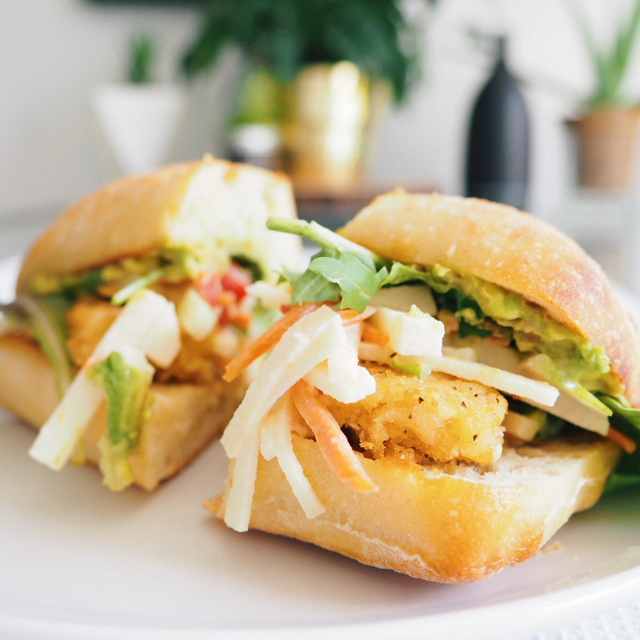 Vegan Crispy Chicken Sandwich