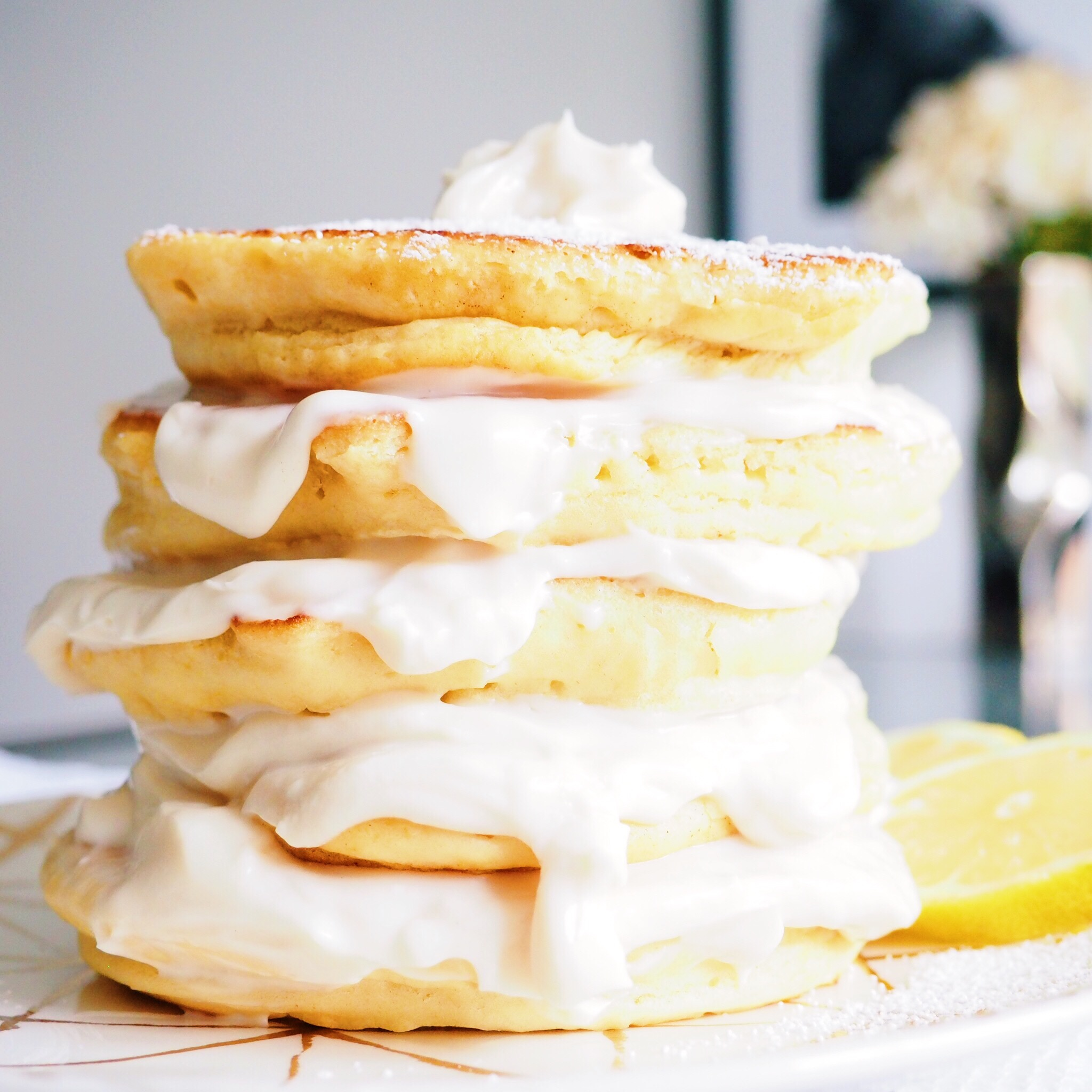 Lemon Pancakes with Lemon Cream Cheese (Vegetarian)(1).jpg