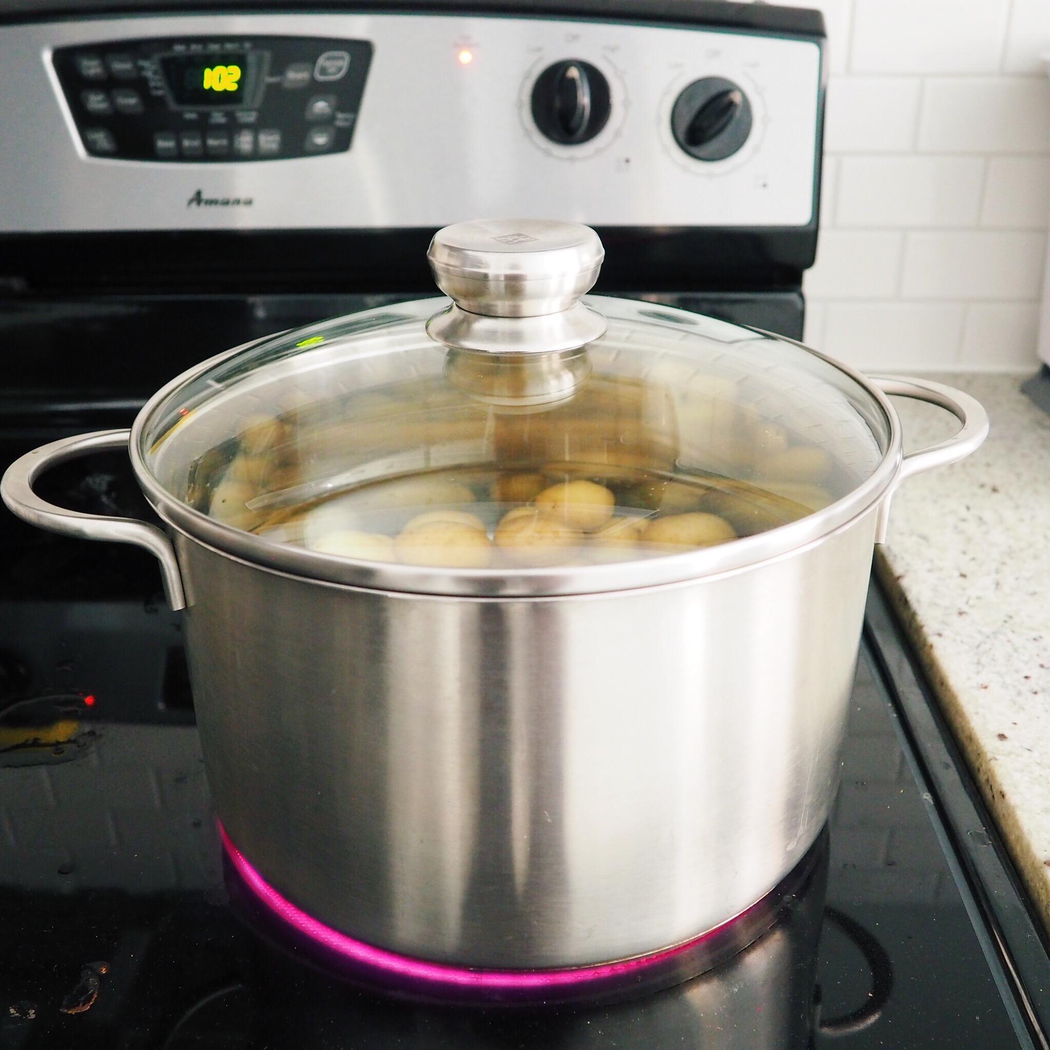 boil potatoes