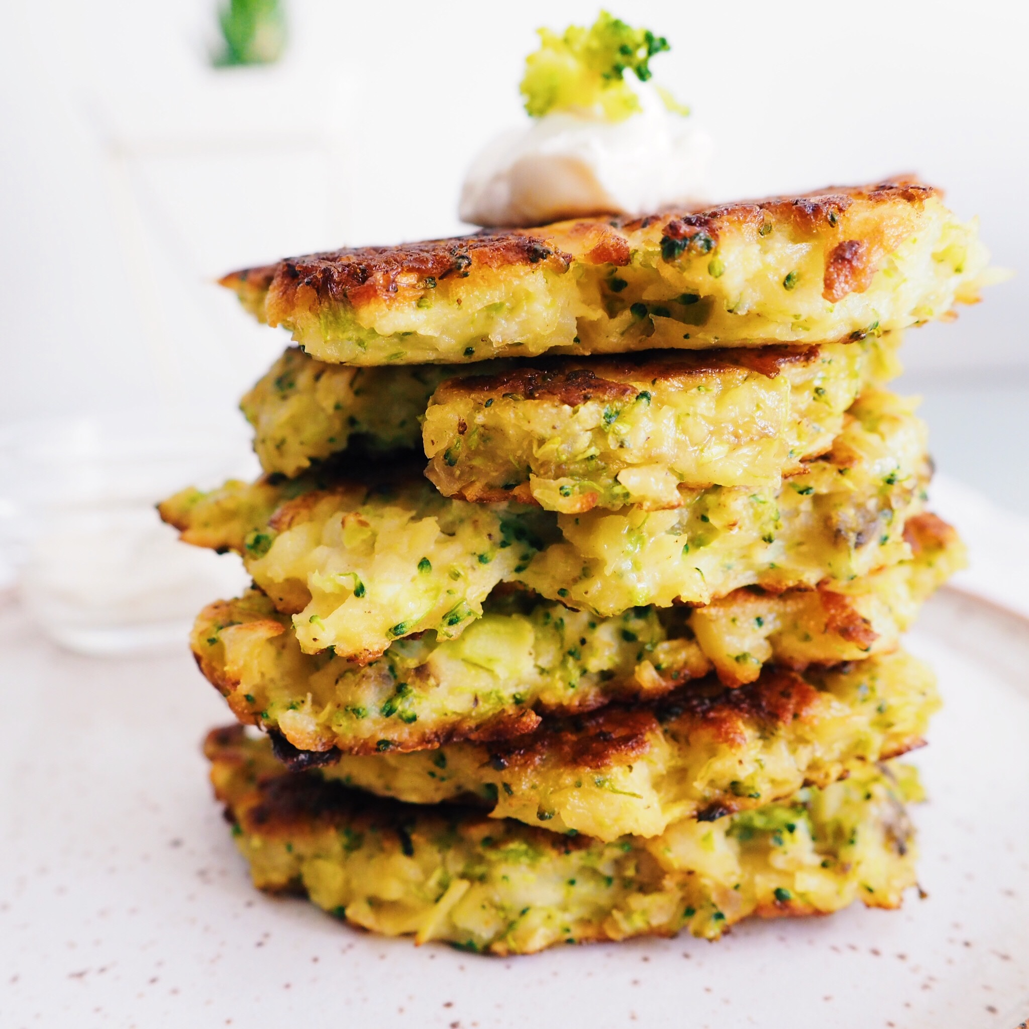 Broccoli Potato Latkes