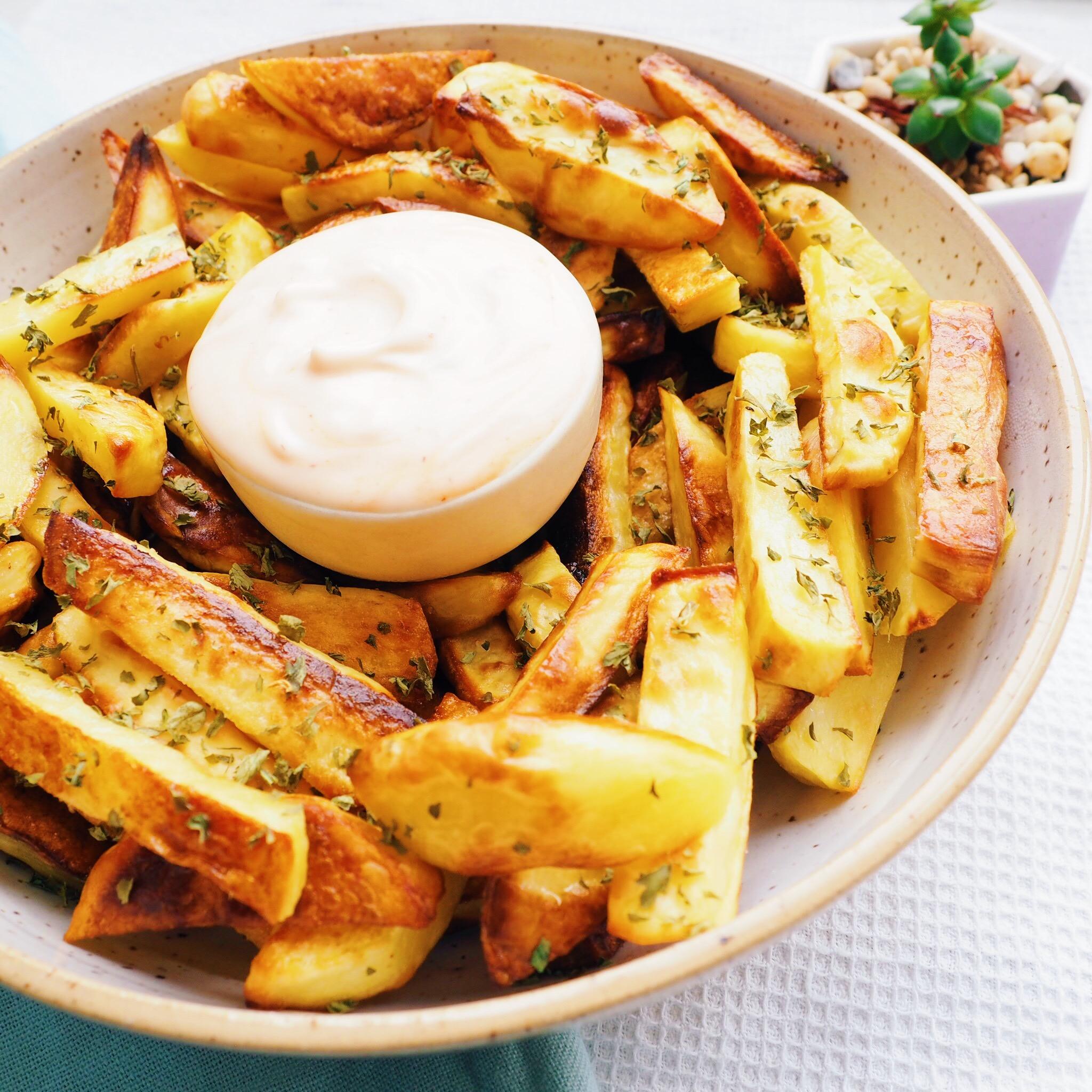 Garlic Roasted Fries