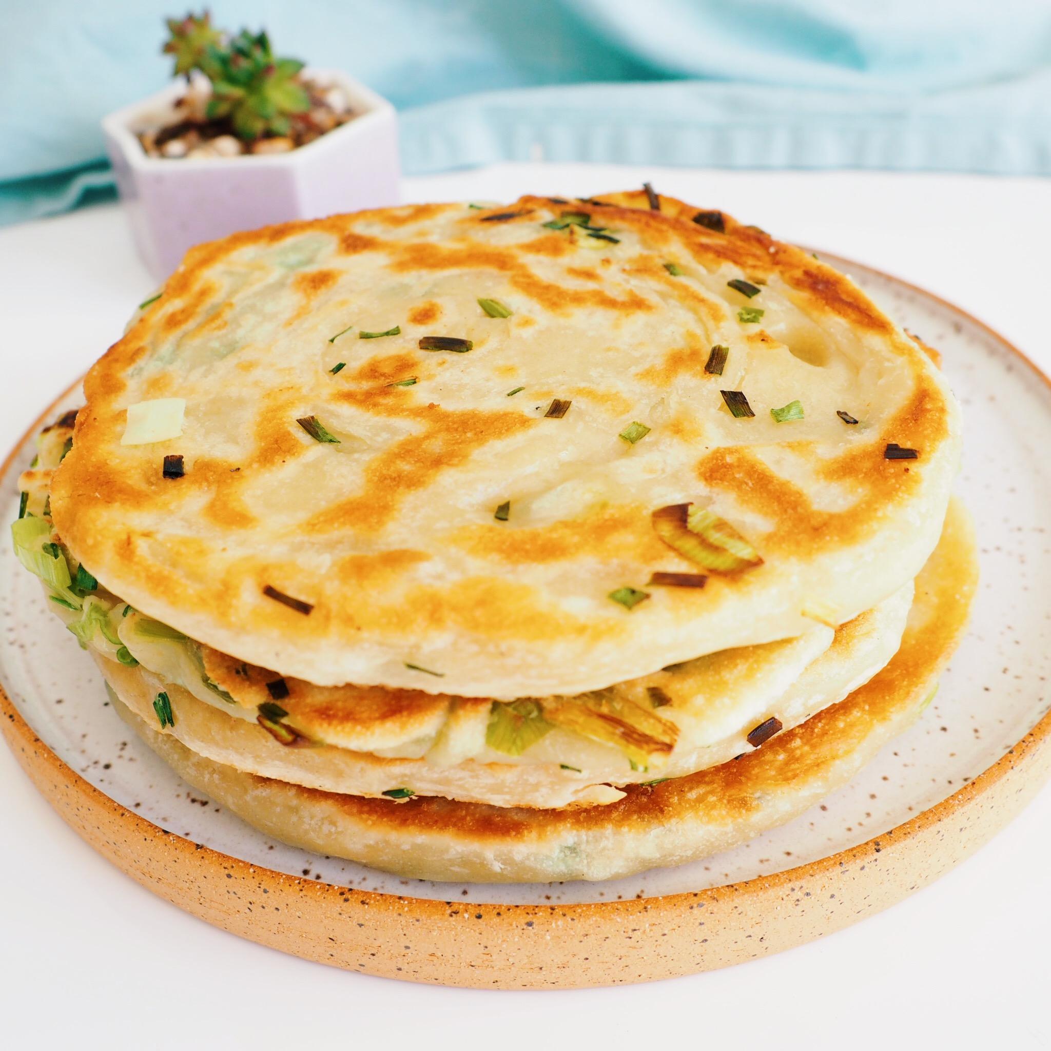 Green Onion Chive Pancake