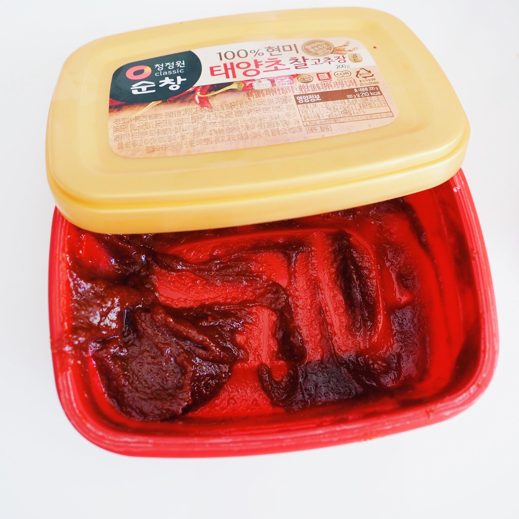 Korean Gochujang Paste