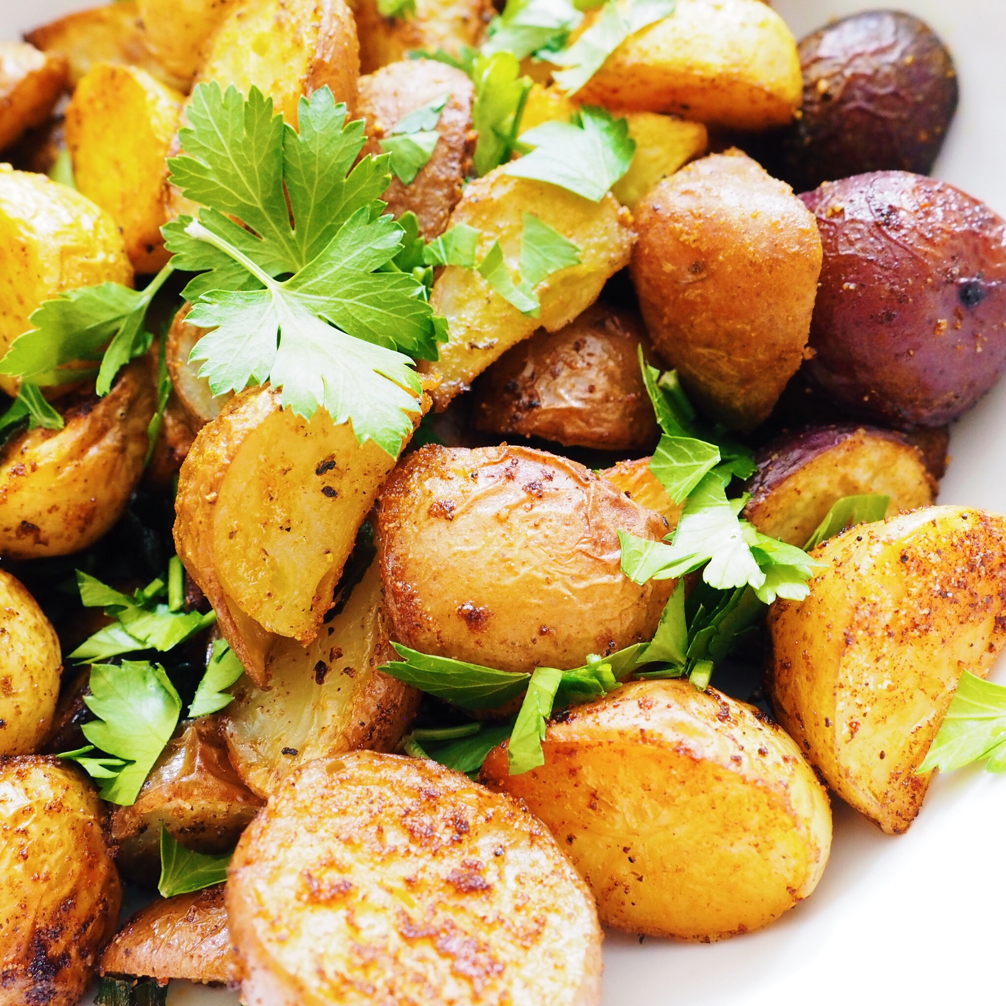 Paprika Roasted Baby Potatoes