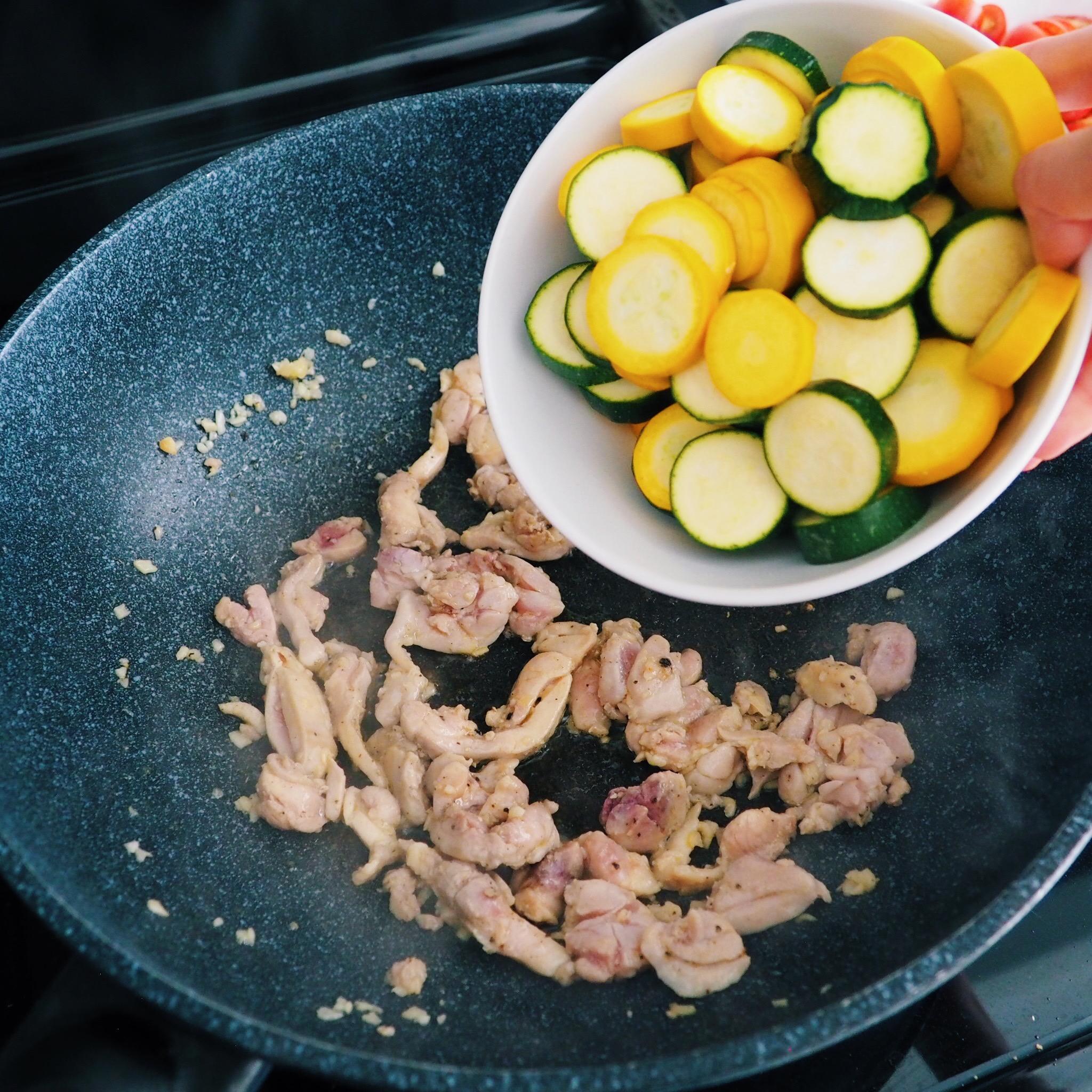 zucchini for Chicken Tomato Zucchini Pasta