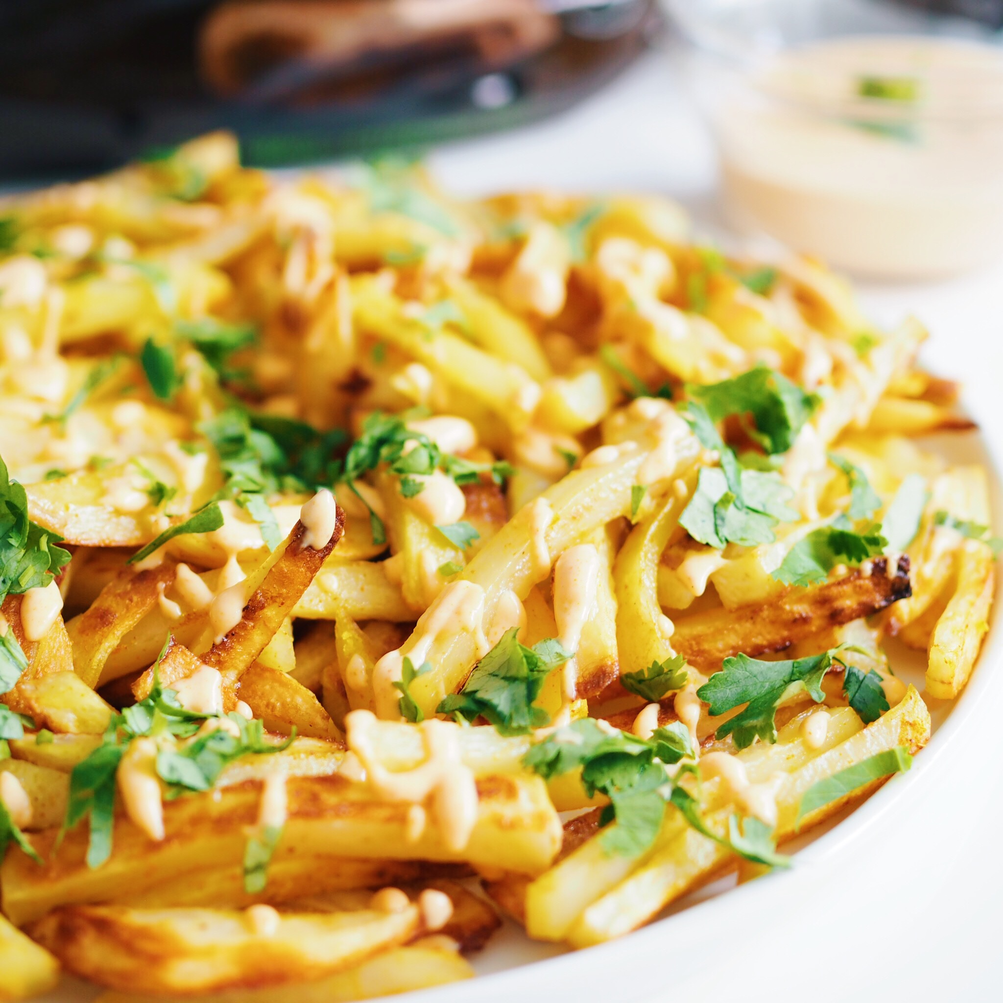 Curry Lime Fries