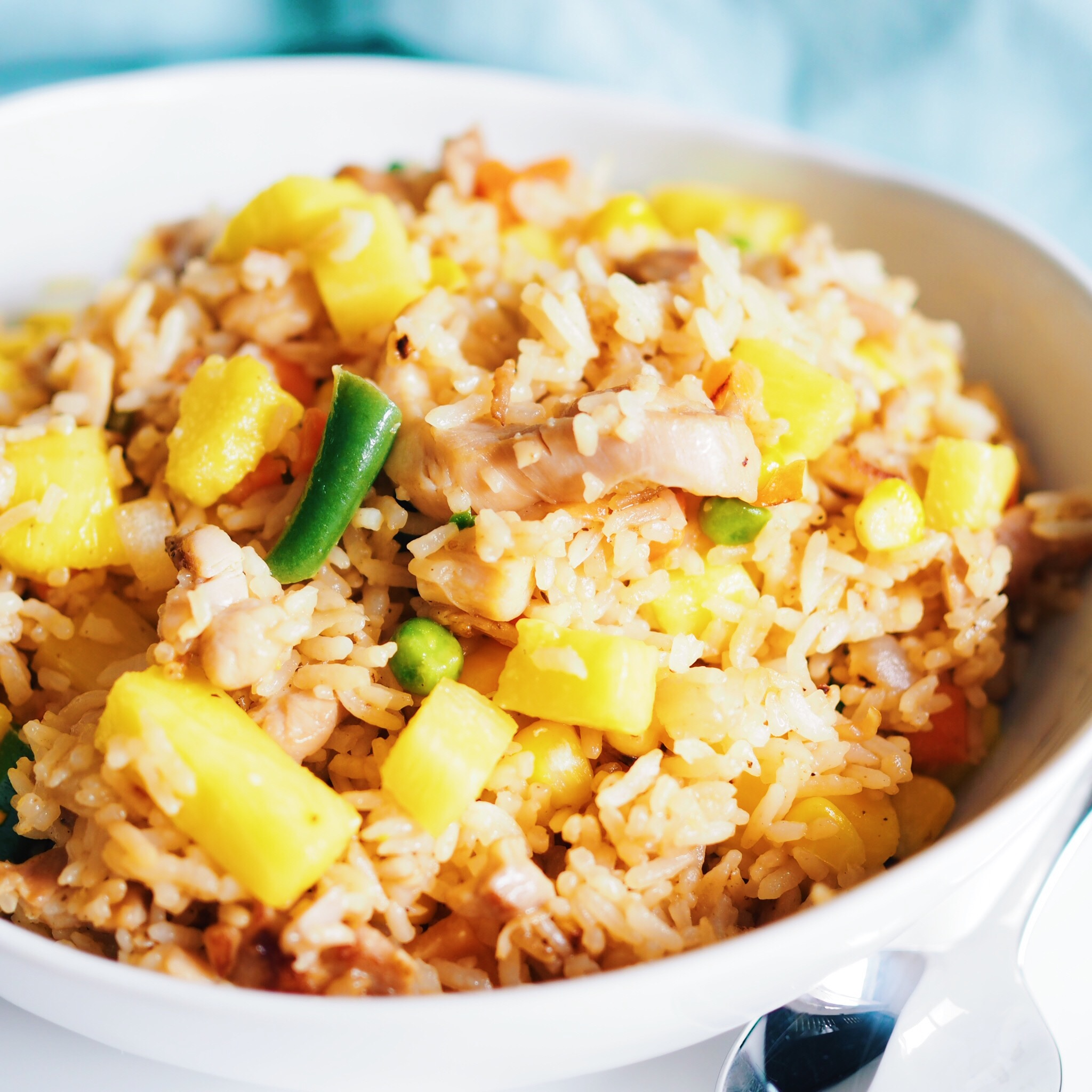 Chicken Pineapple Fried Rice