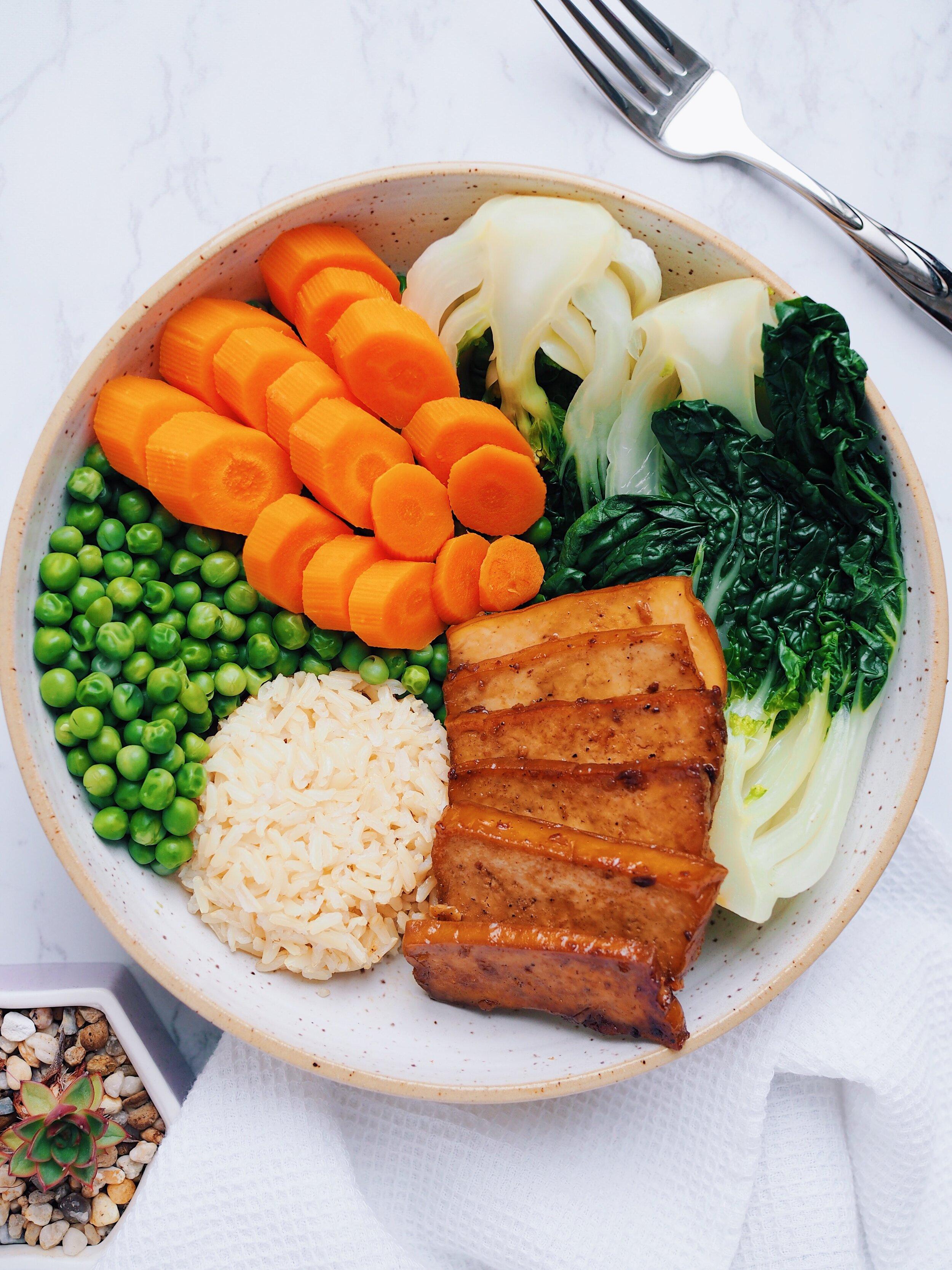 Maple Soy Glazed Tofu