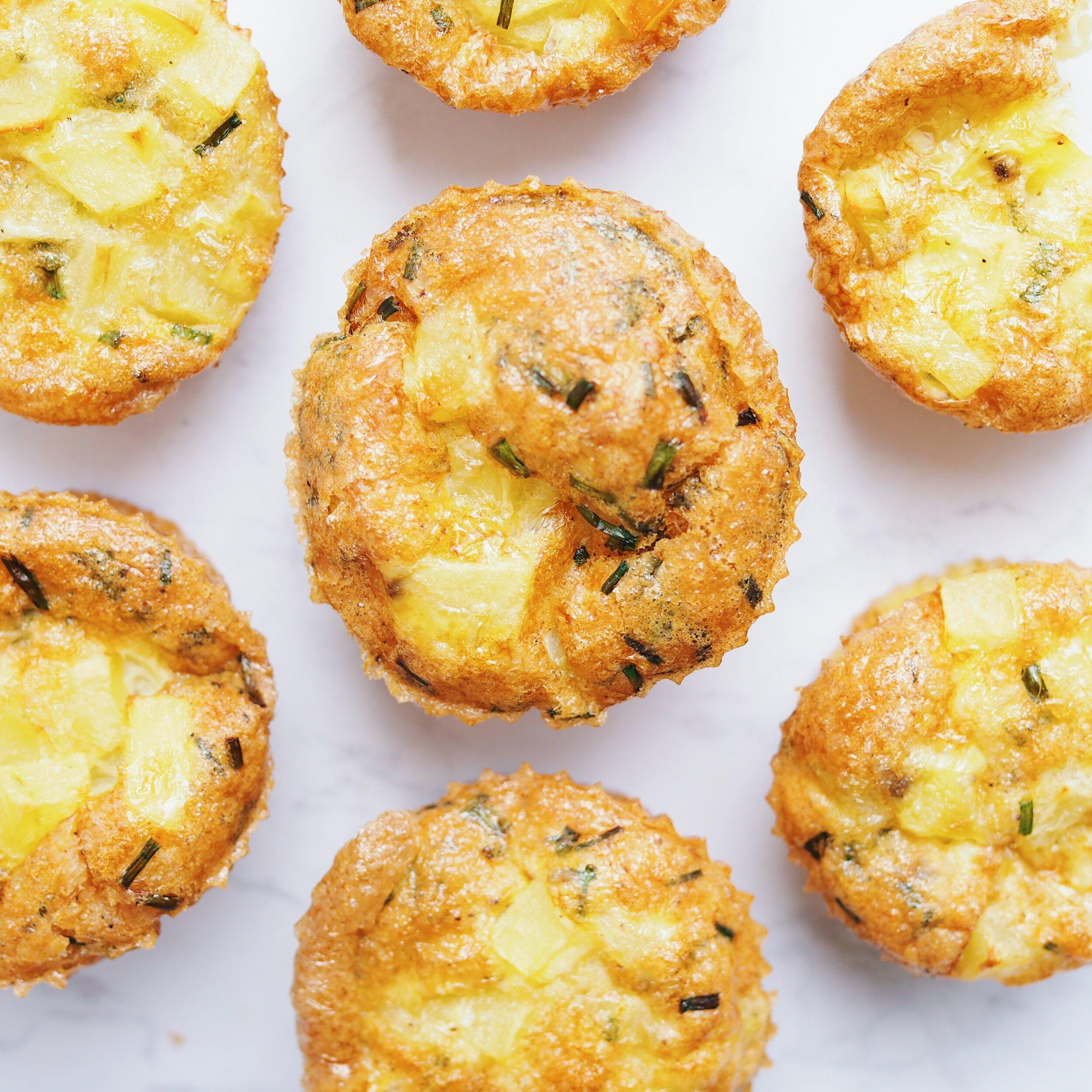 egg potato muffins
