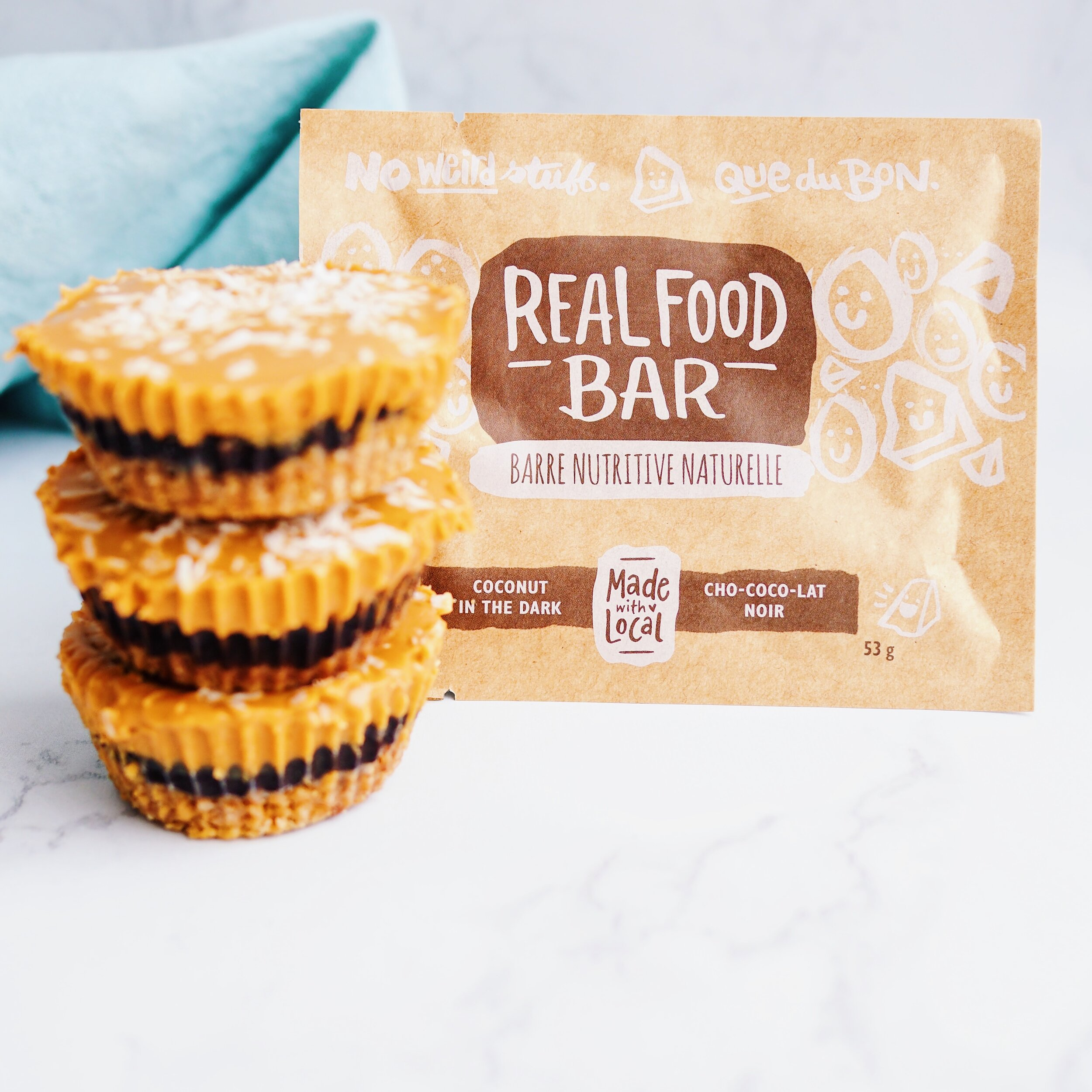 Chocolate Peanut Butter Oatmeal Cups Made with Local