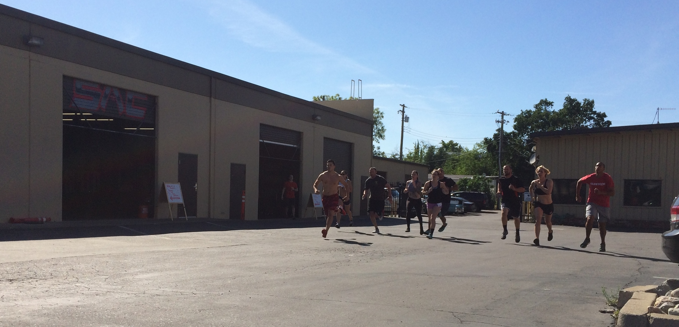 The 4pm class getting after
