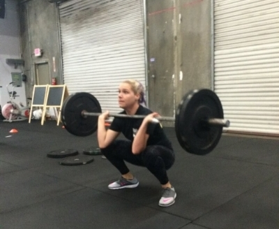Kelly during the 16.2 Open