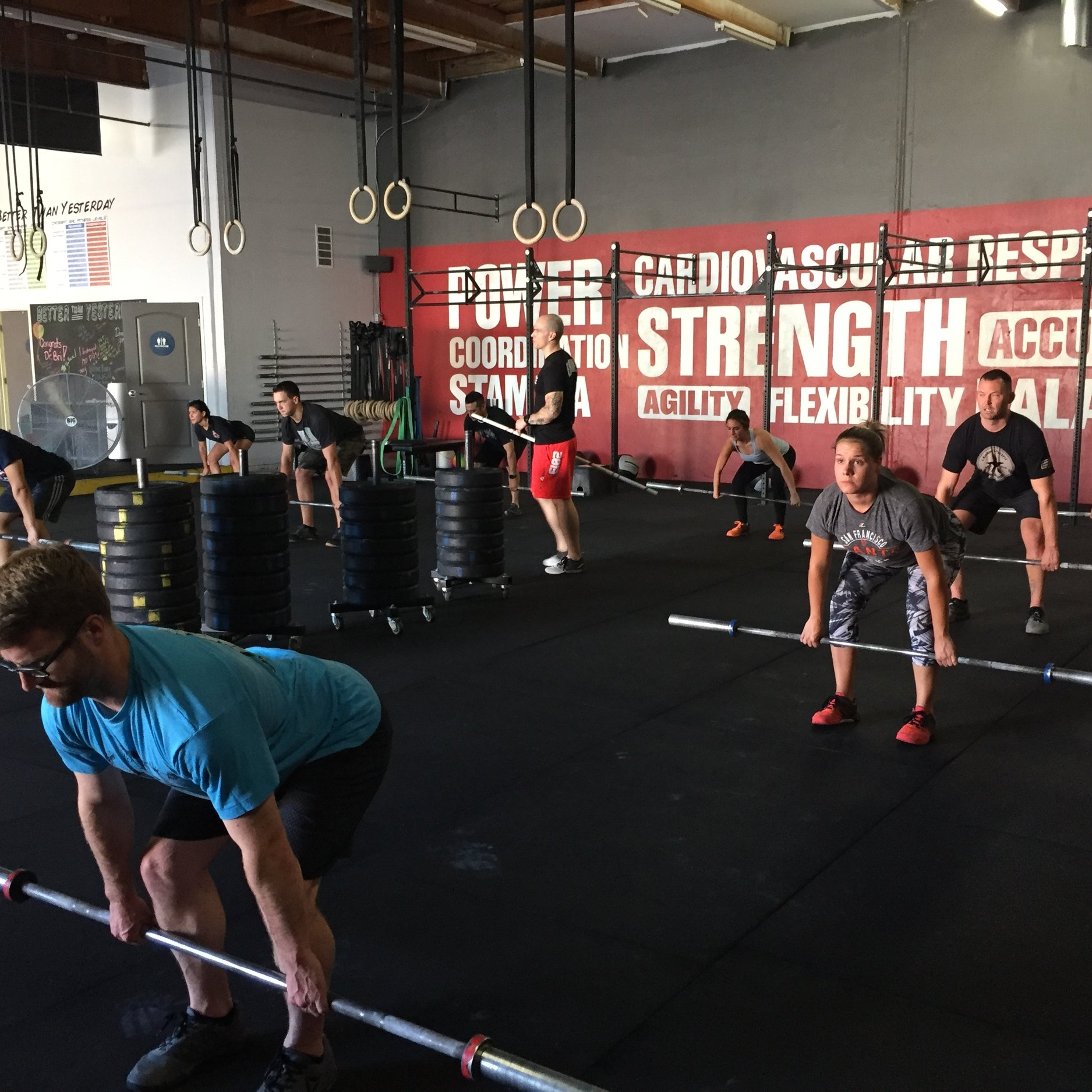 We offer a variety of services, including CrossFit classes, personal training and much more.