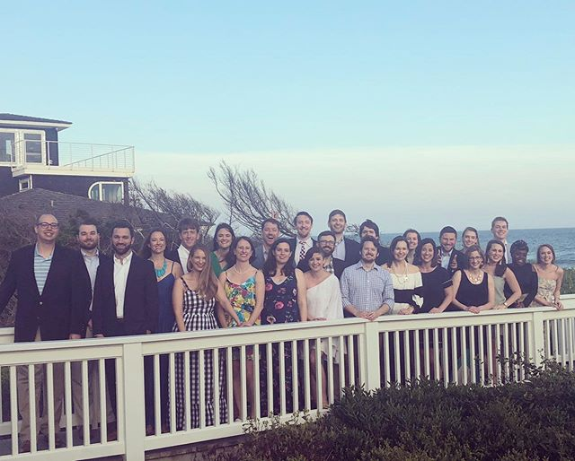 "Our 2019 class of Fellows finished off their year strong and we're proud of them! What a joy to learn and do life with them this year. We're also grateful to our hostess and 2017 alumnus Katherine @skk331 for her gracious hospitality during our final spring retreat! ""So between the death of Christ and the Last Day it is only by a gracious anticipation of the last things that Chris­tians are privileged to live in visible fellowship with other Christians."" Bonhoeffer, Life Together"