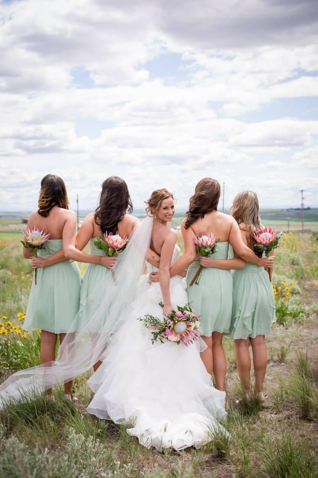 bridal hair, Shawna Hines