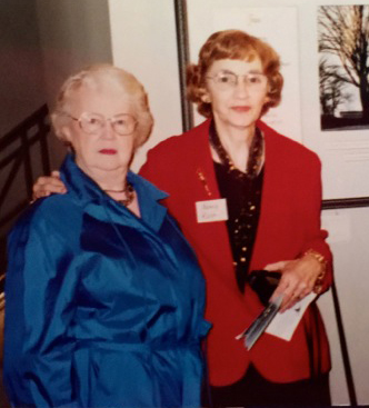 Betty Gilpin and Nancy Rice