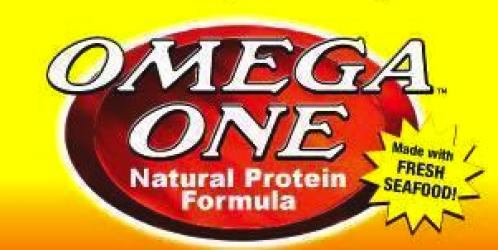 Omega One Logo | Fish Food Mineola | Buy Fish Food Long Island