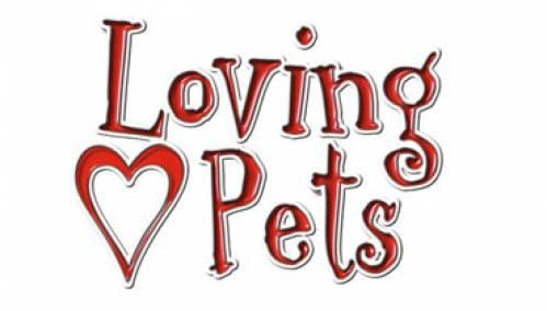Loving Pets Logo | Pet Supplies Queens