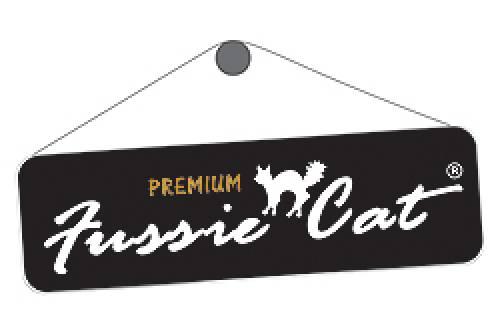 Fussie Cat Logo | Cat Food | Buy Cat Food Mineola