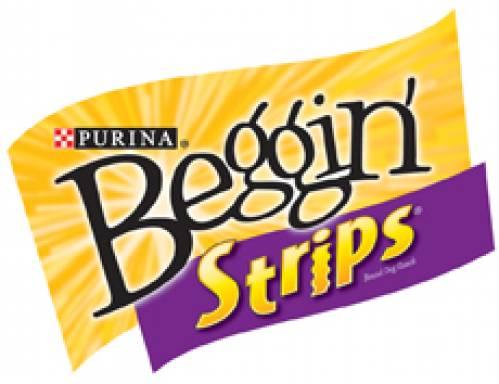 Purina Beggin' Strips Logo | Dog Treats Nassau County