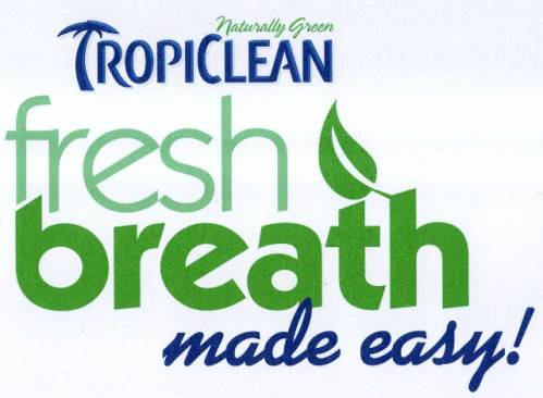 Tropiclean Fresh Breath Logo | Dog Breath Mints Brooklyn | Dog Treats for Bad Breath