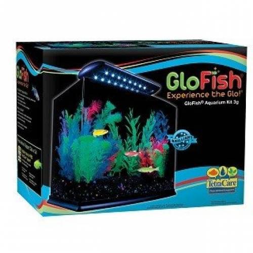 GloFish Glow Aquarium | Glow in the Dark Fish Tank | Fish Tanks For Sale Mineola