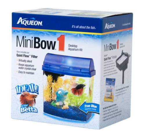Aqueon MiniBow 1 Aquarium | Fish Tanks Nassau County