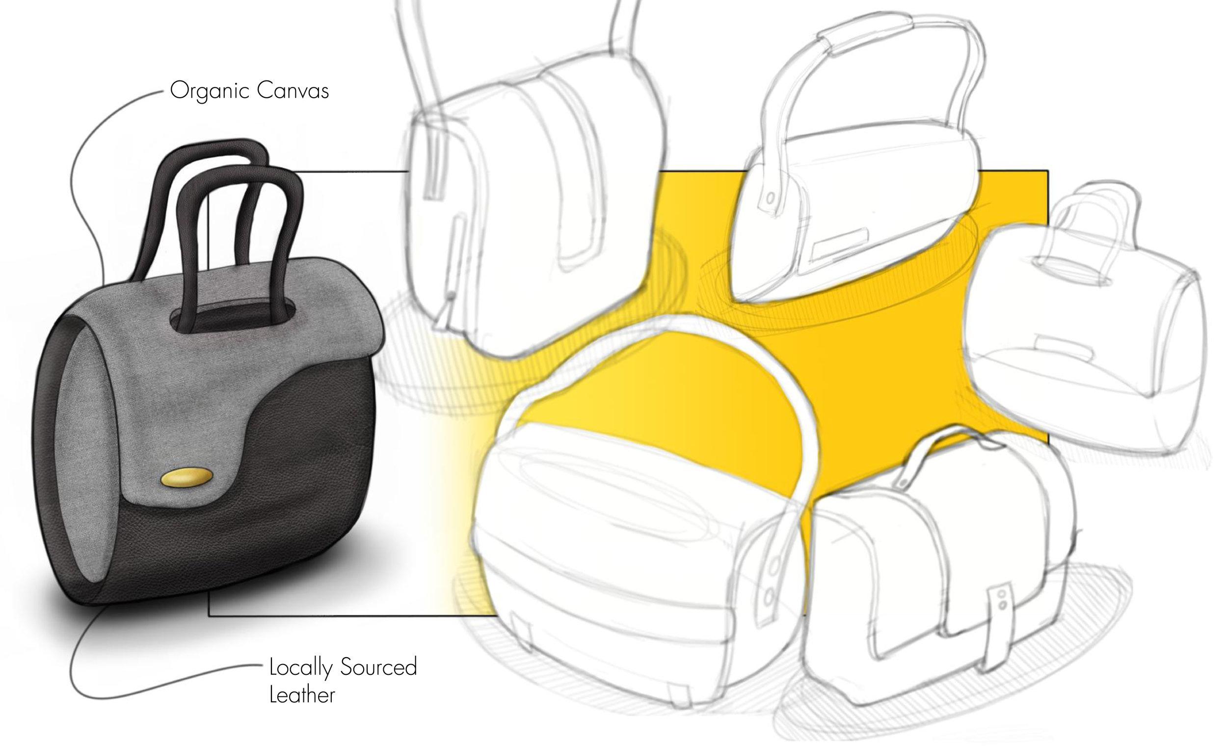 Hand Bag Sketch Ideation