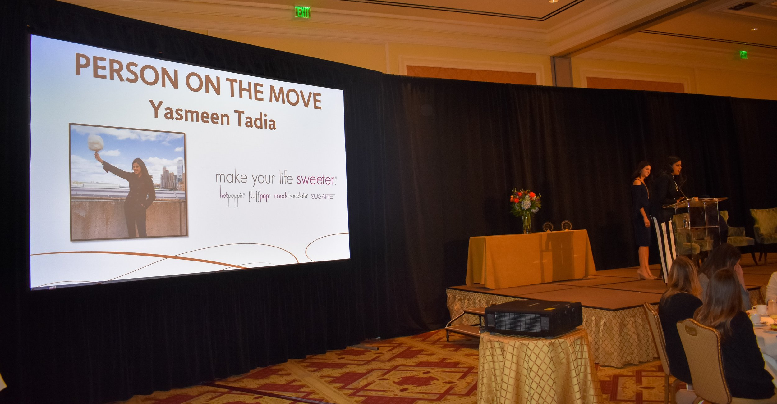 Yasmeen Tadia- Person On The Move - Make Your Life Sweeter Events