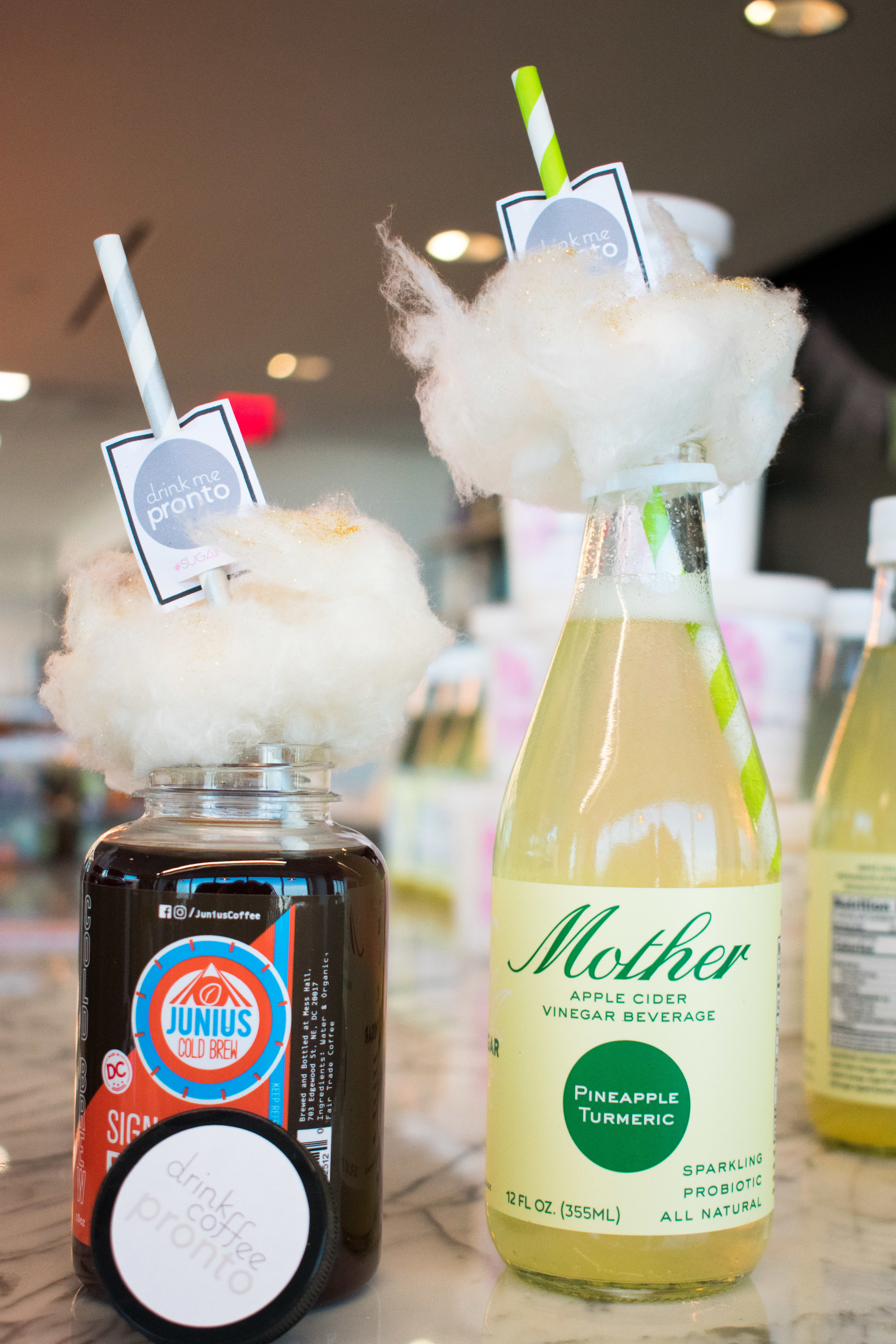 Make Your Life Sweeter Events - Sugaire Organic Cotton Candy