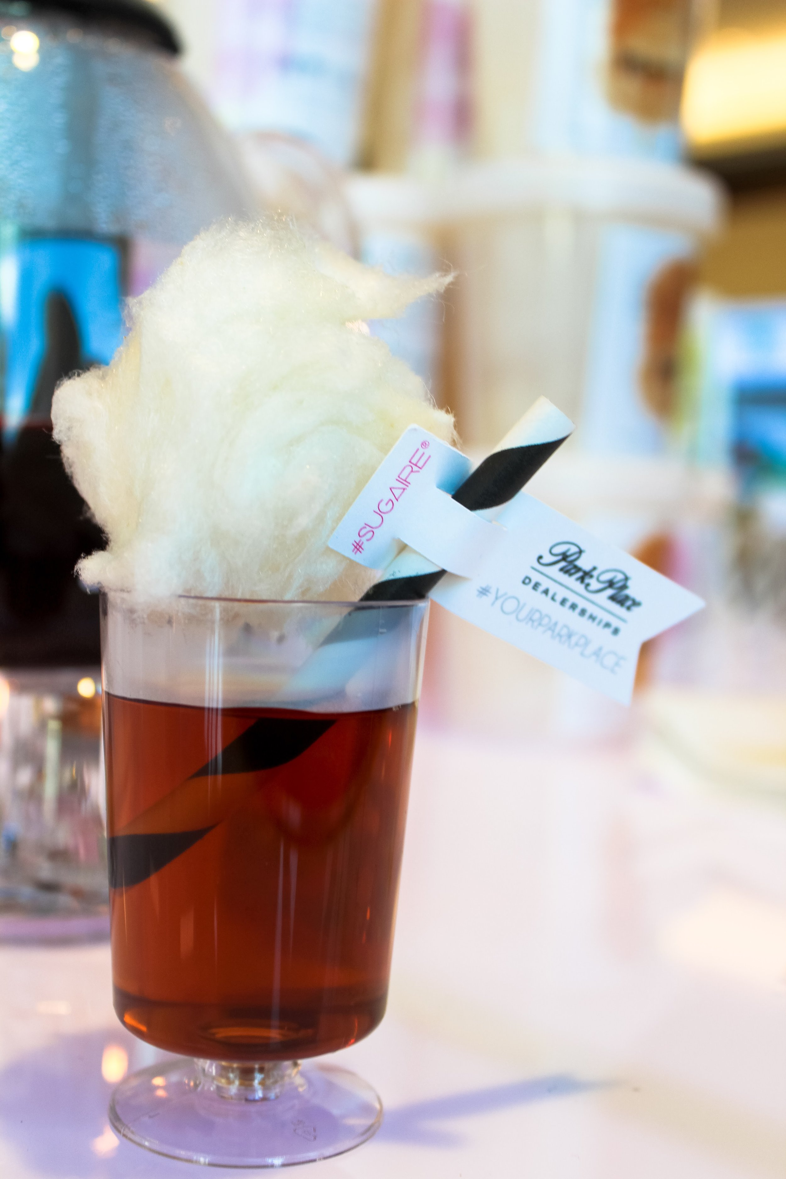 Sugaire All-Natural Cotton Candy Tea for Infusion