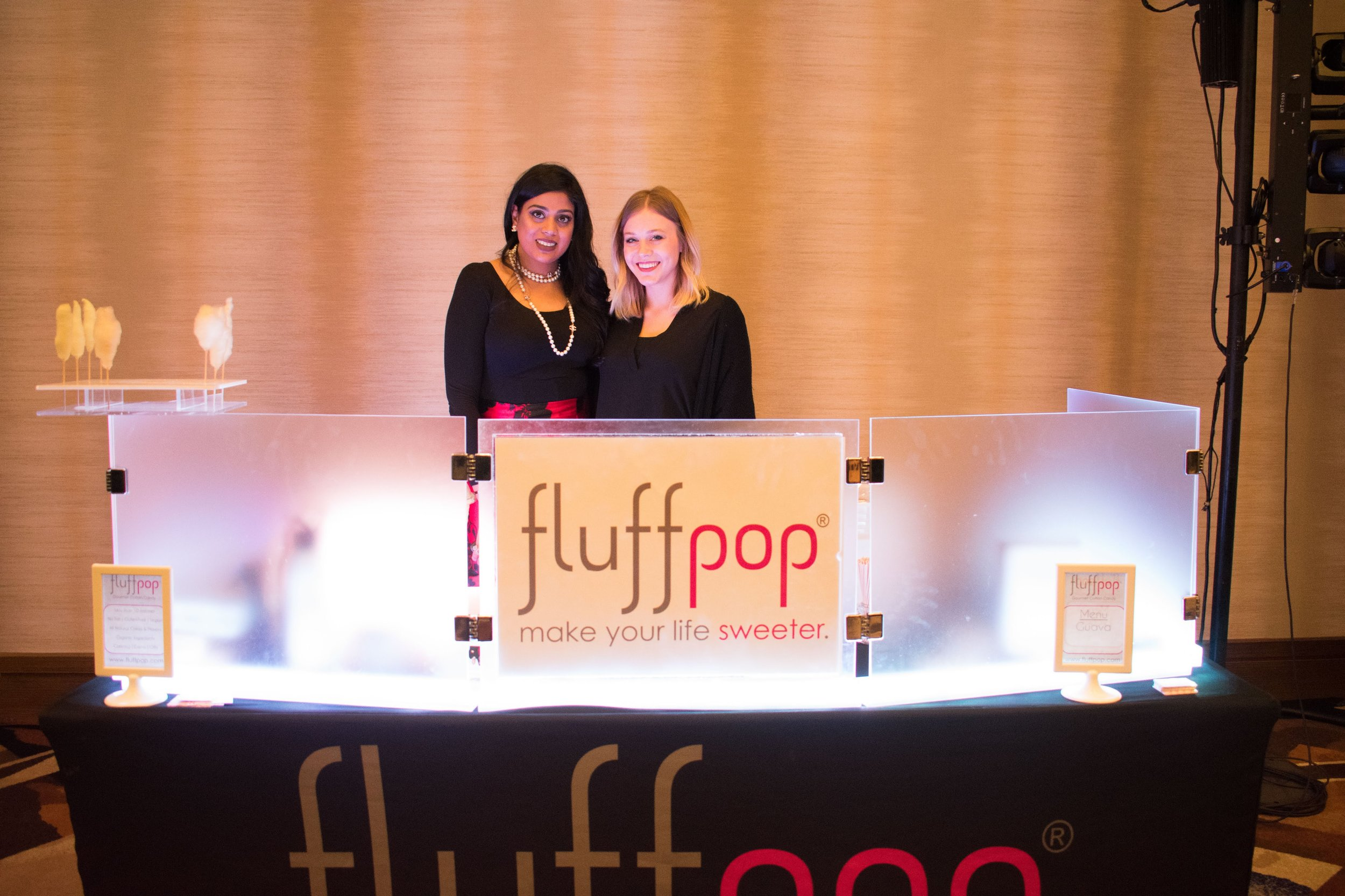 Fluffpop artisanal mini cotton candy- Oprah Winfrey Event